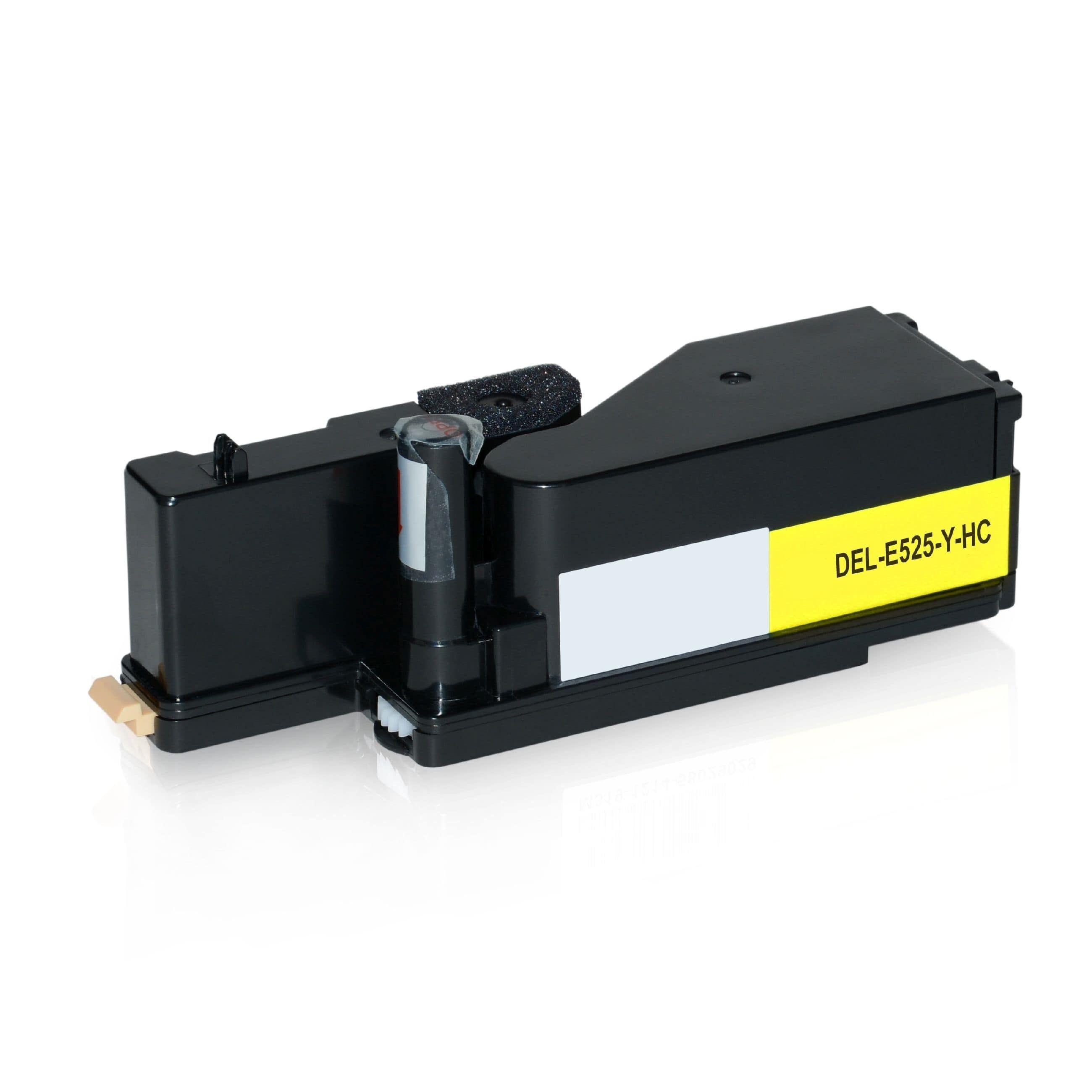 Dell Cartouche de Toner pour Dell 593BBLV / MWR7R jaune compatible (de marque ASC)