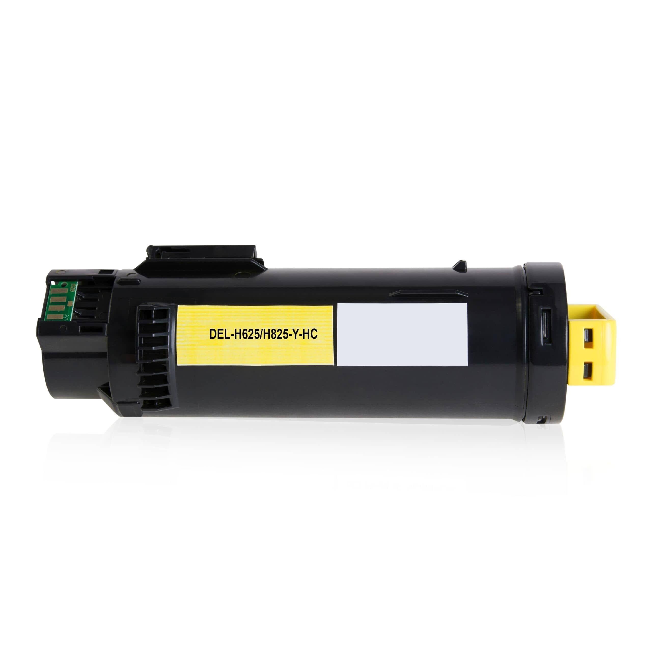 DELL Cartouche de Toner pour DELL 593BBSE / 3P7C4 jaune compatible (de marque ASC)