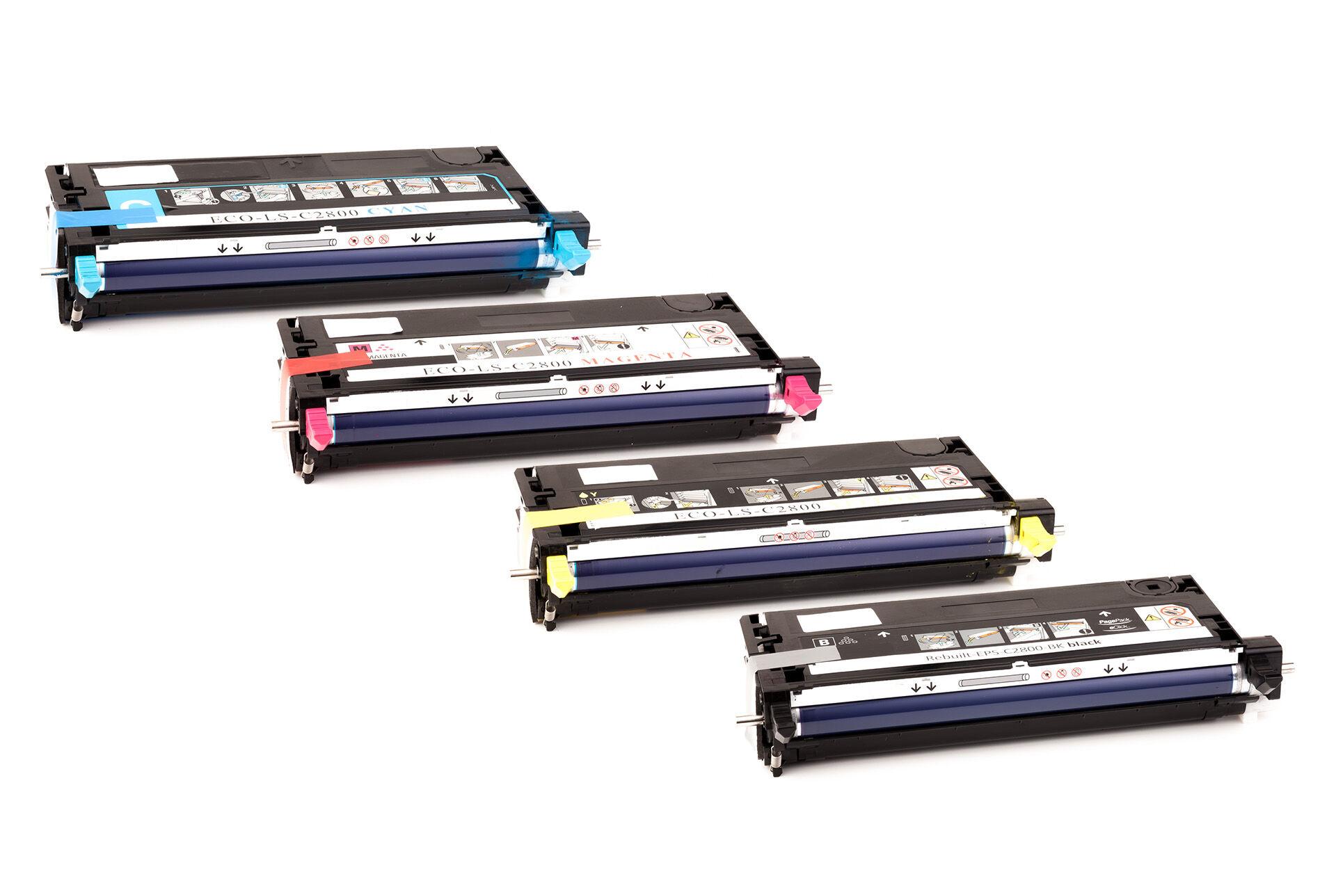 Epson Cartouche de Toner pour Epson C13S051161 / 1161 noir compatible (de marque ASC)