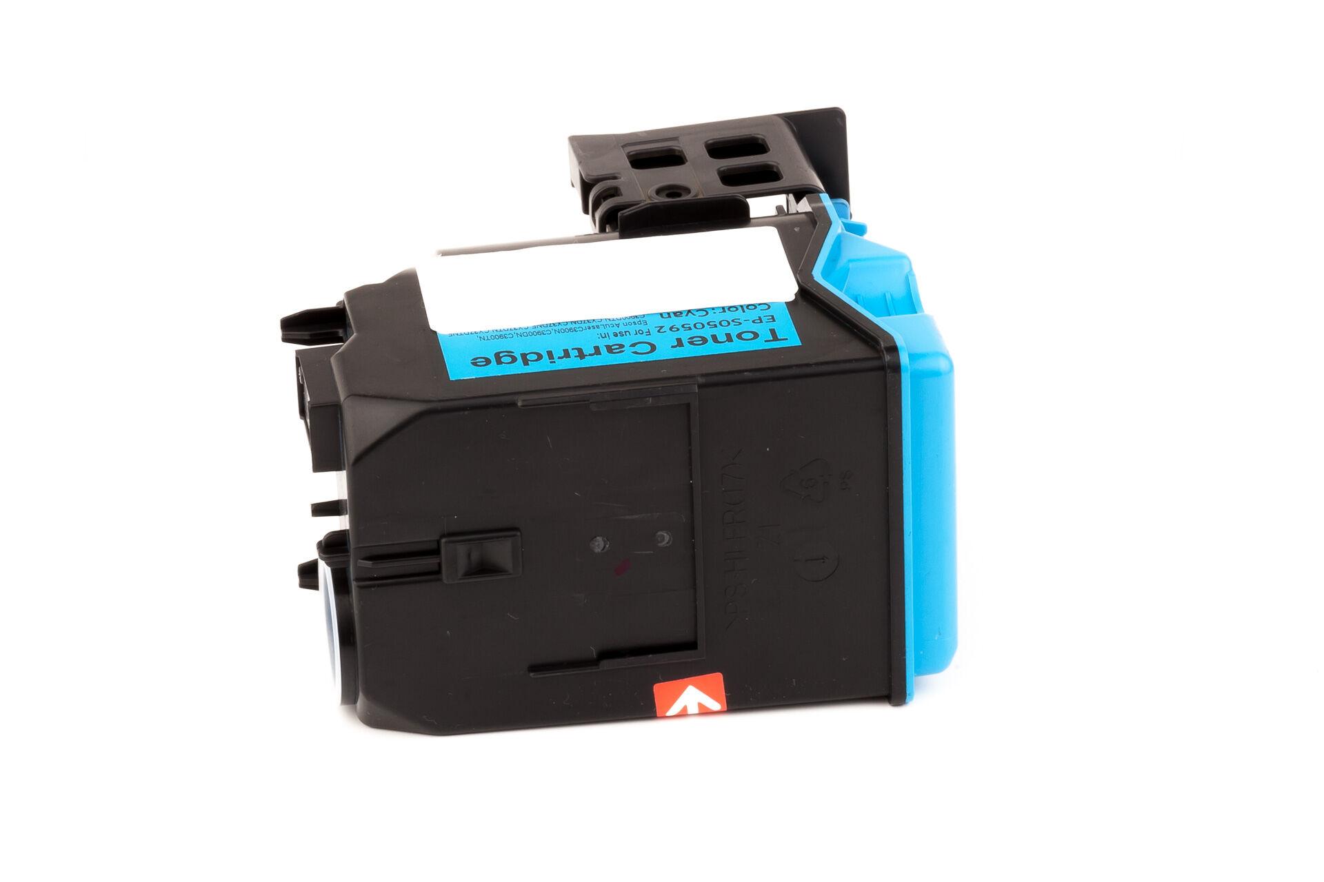Epson Cartouche de Toner pour Epson C13S050592 / S050592 cyan compatible (de marque ASC)