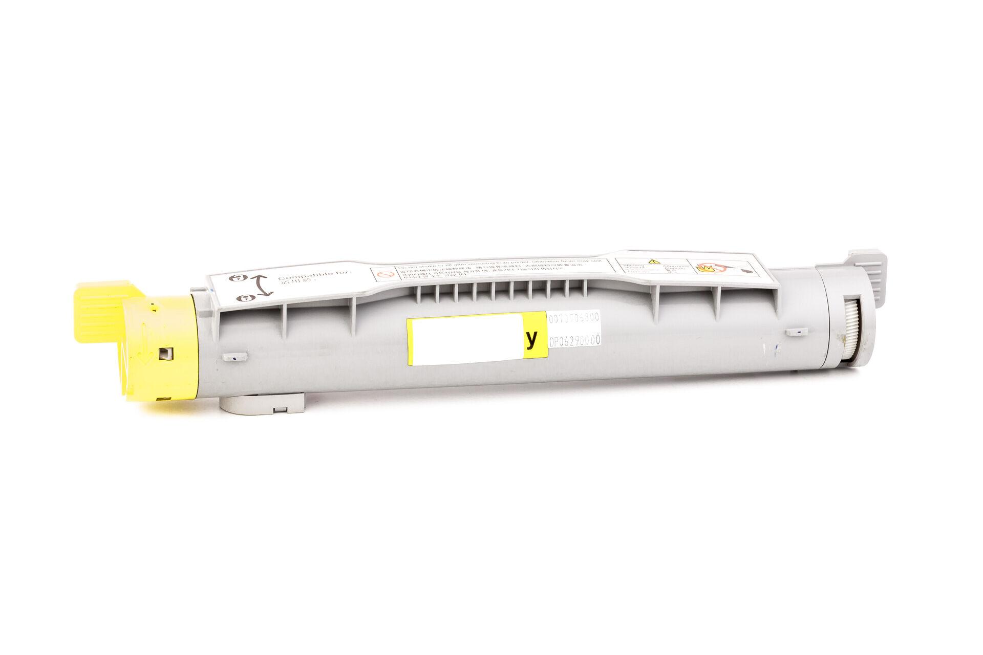Epson Cartouche de Toner pour Epson C13S050242 / 0242 jaune compatible (de marque ASC)