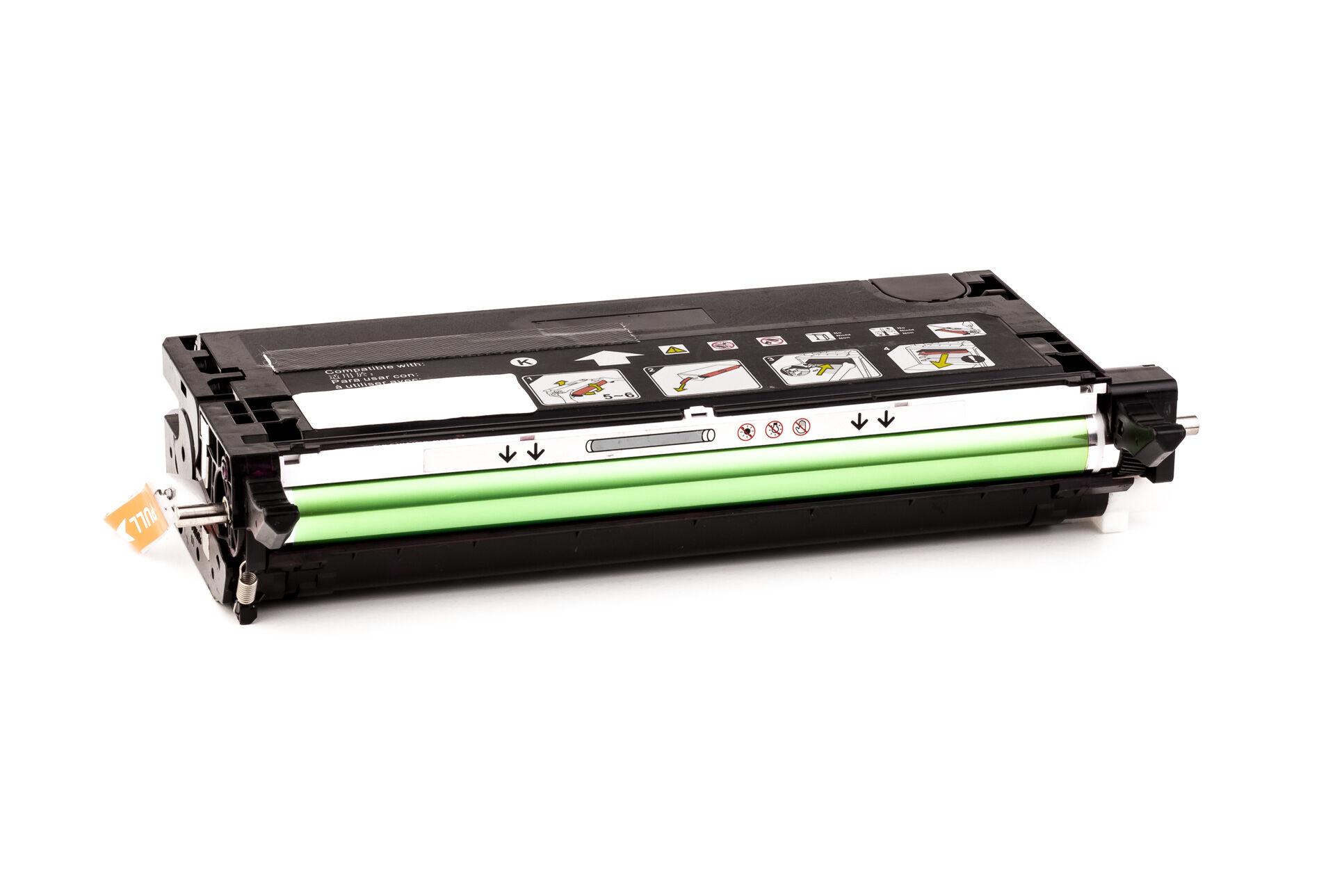 Epson Cartouche de Toner pour Epson C13S051127 / 1127 noir compatible (de marque ASC)