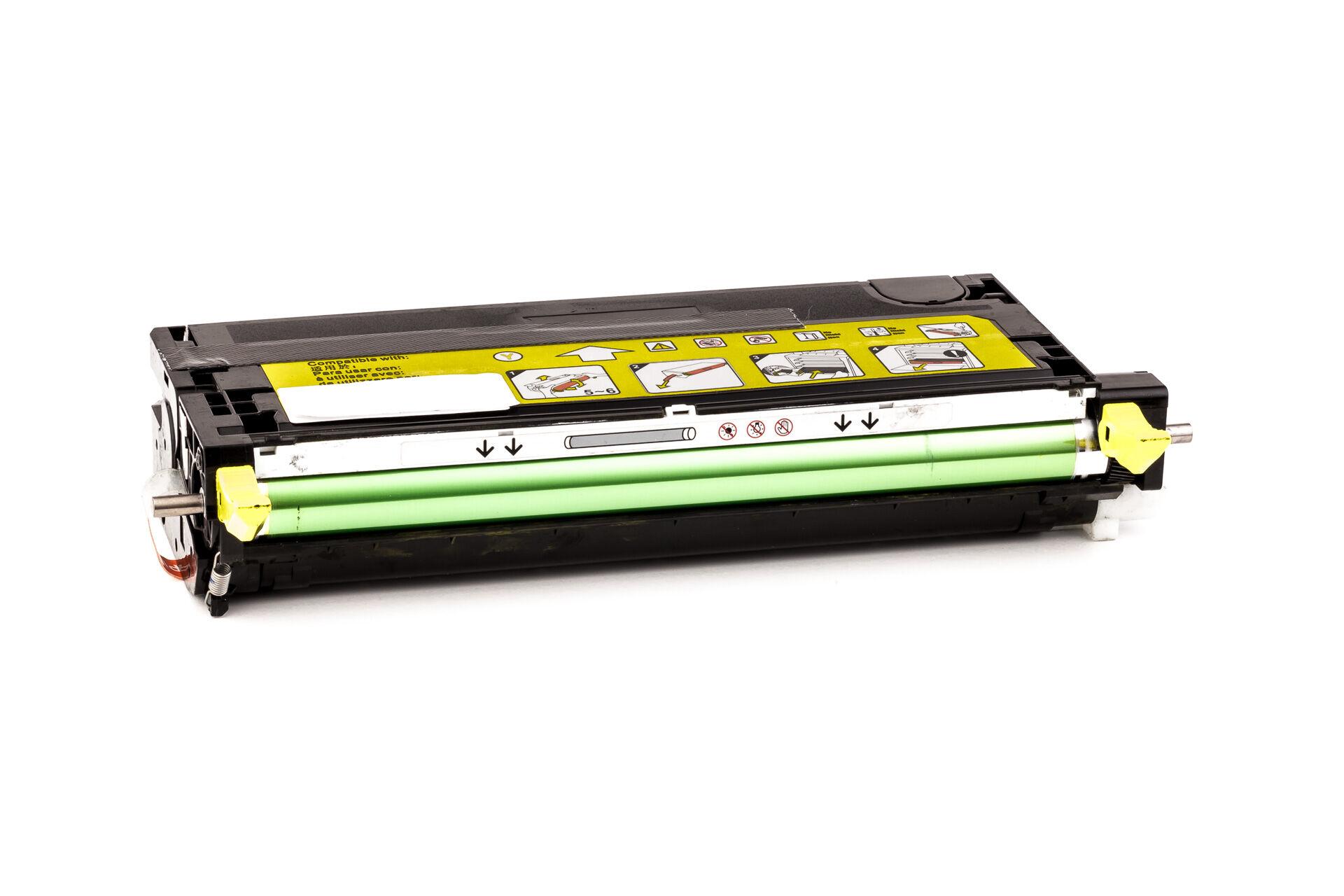 Epson Cartouche de Toner pour Epson C13S051124 / 1124 jaune compatible (de marque ASC)