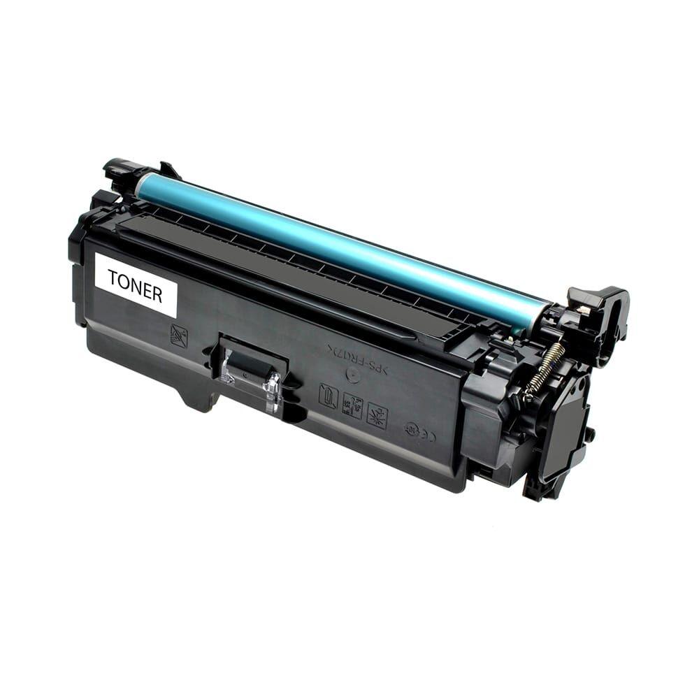 HP Cartouche de Toner pour HP CE250A / 504A noir compatible (de marque ASC)