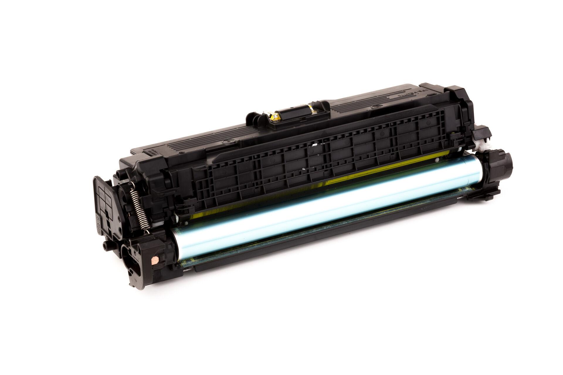 HP Cartouche de Toner pour HP CE252A / 504A jaune compatible (de marque ASC)