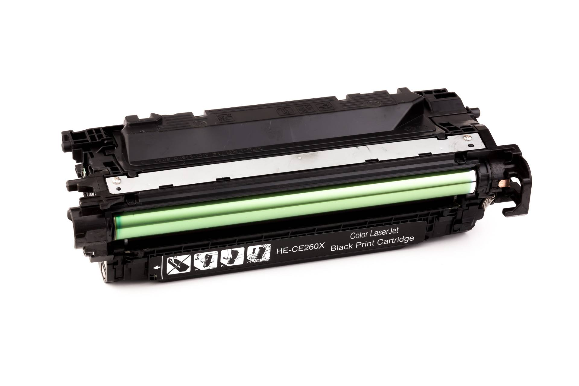 HP Cartouche de Toner pour HP CE260X / 649X noir compatible (de marque ASC)