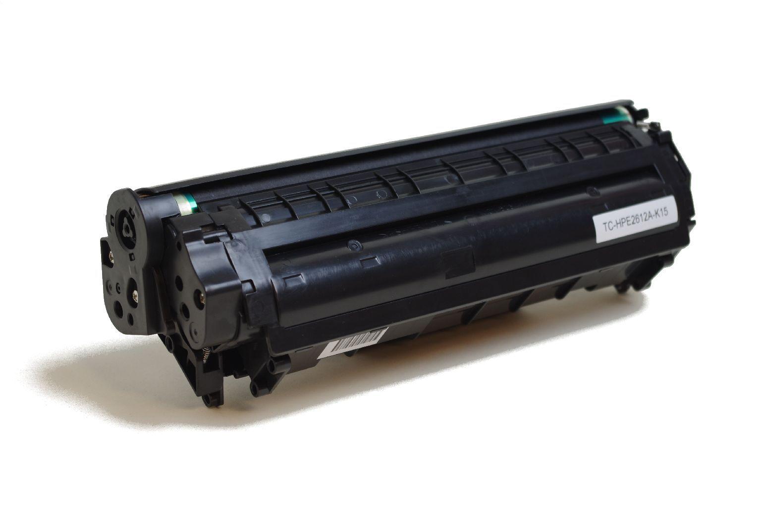 HP Cartouche de Toner pour HP Q2612A / 12A noir compatible (de marque ASC)