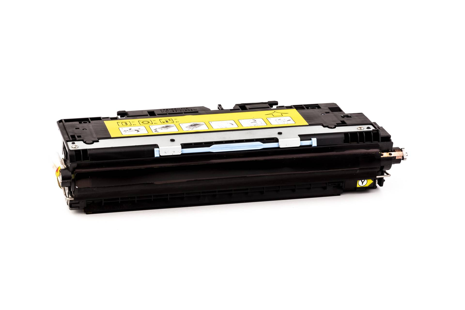 HP Cartouche de Toner pour HP Q2672A / 309A jaune compatible (de marque ASC)