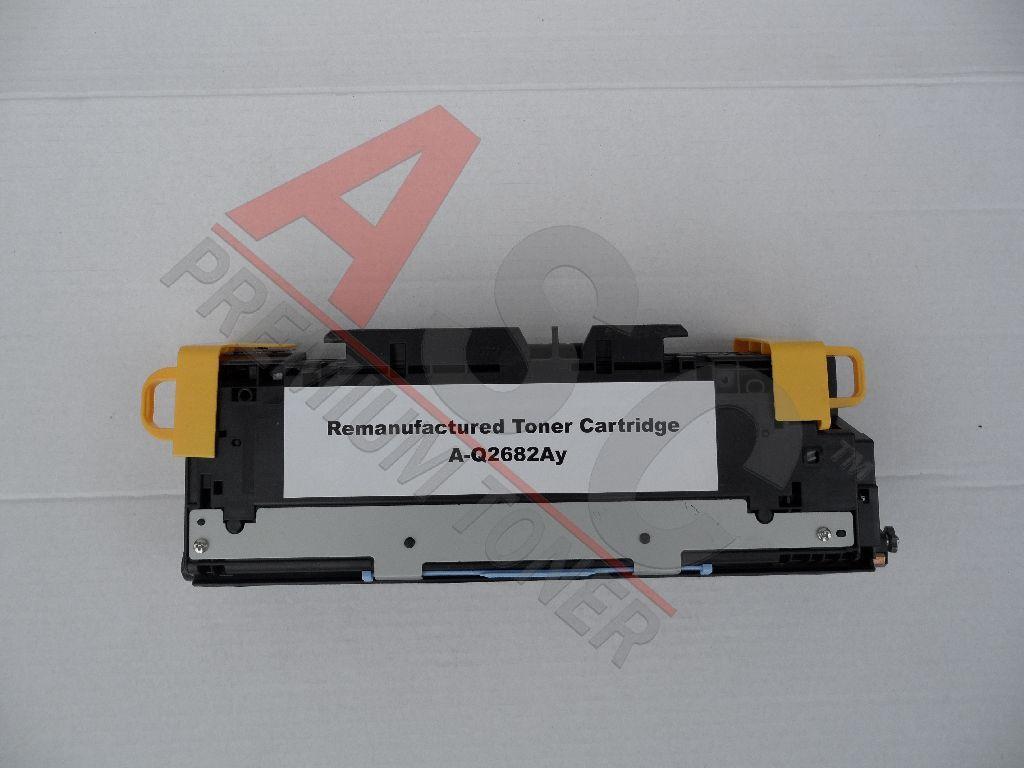 HP Cartouche de Toner pour HP Q2682A / 311A jaune compatible (de marque ASC)