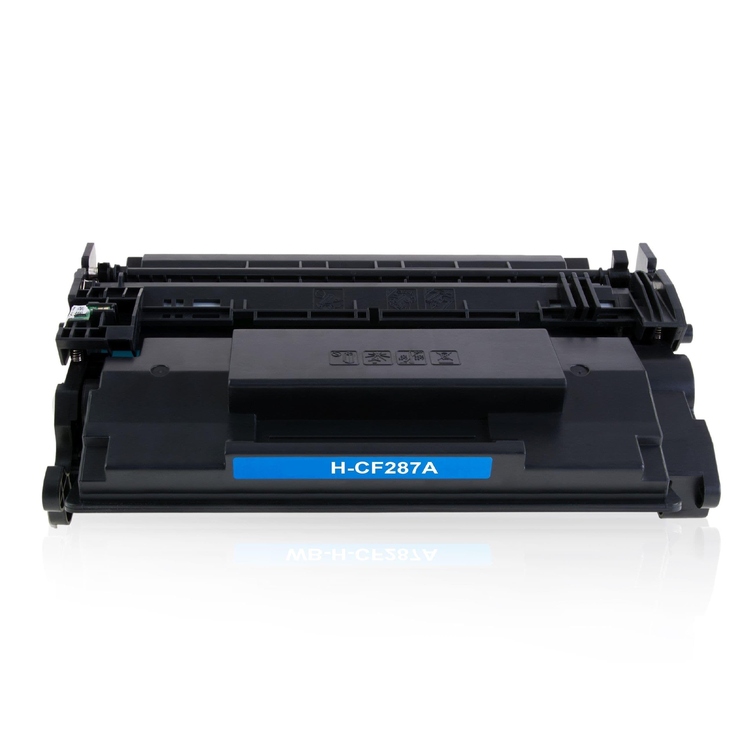 HP Cartouche de Toner pour HP CF287A / 87A noir compatible (de marque ASC)