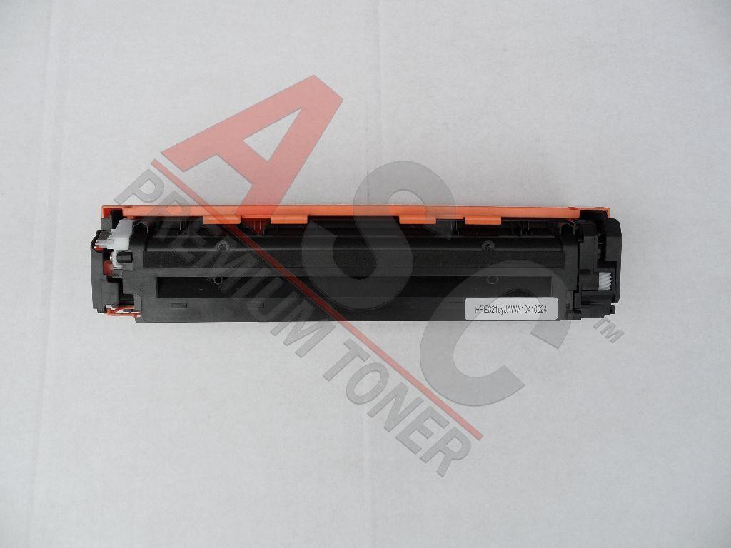 HP Cartouche de Toner pour HP CE321A / 128A cyan compatible (de marque ASC)