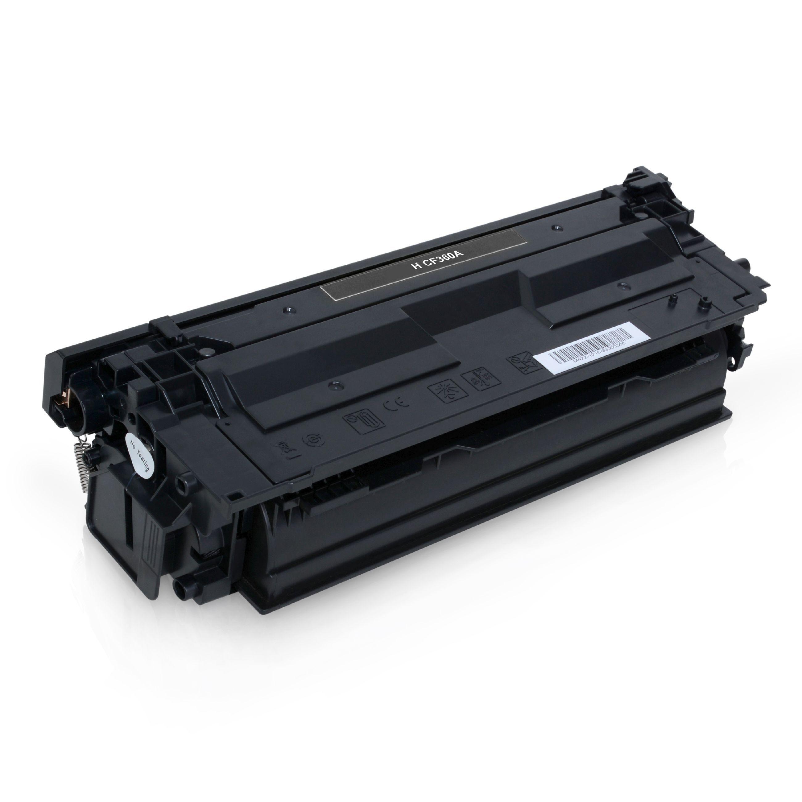 HP Cartouche de Toner pour HP CF360A / 508A noir compatible (de marque ASC)
