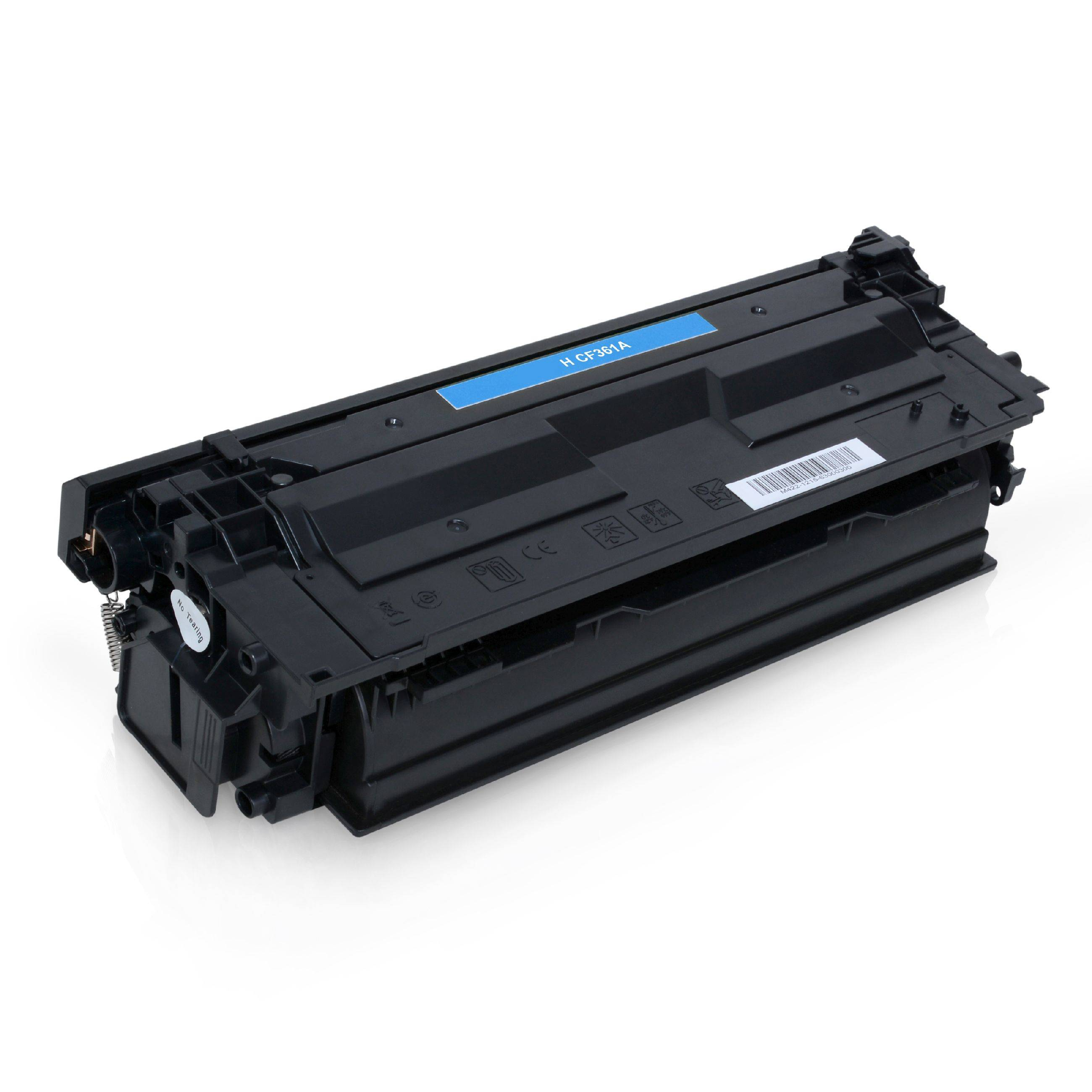 HP Cartouche de Toner pour HP CF361A / 508A cyan compatible (de marque ASC)