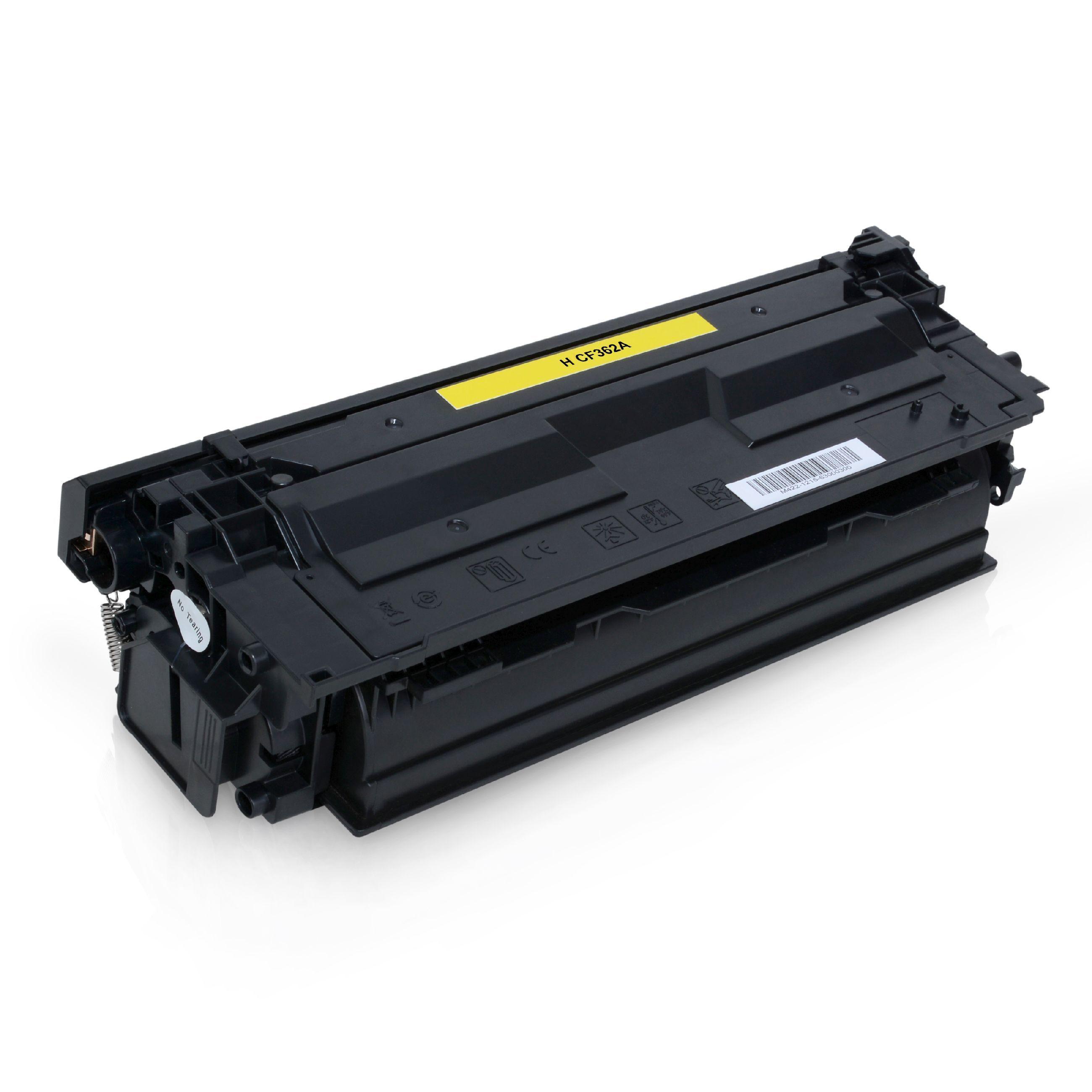 HP Cartouche de Toner pour HP CF362A / 508A jaune compatible (de marque ASC)