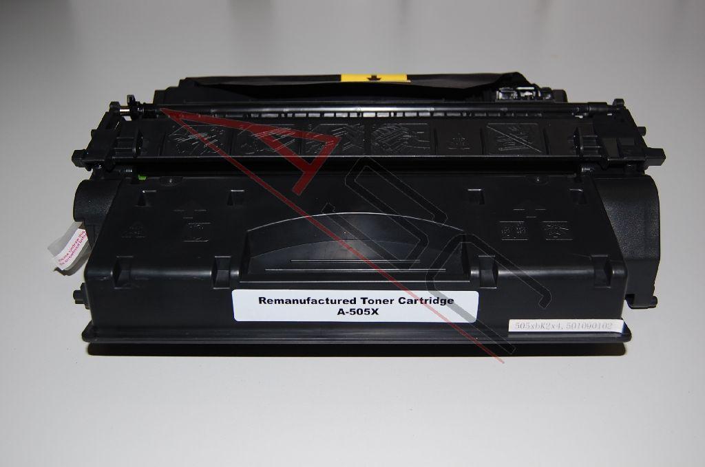 HP Cartouche de Toner pour HP CE505X / 05X noir compatible (de marque ASC)