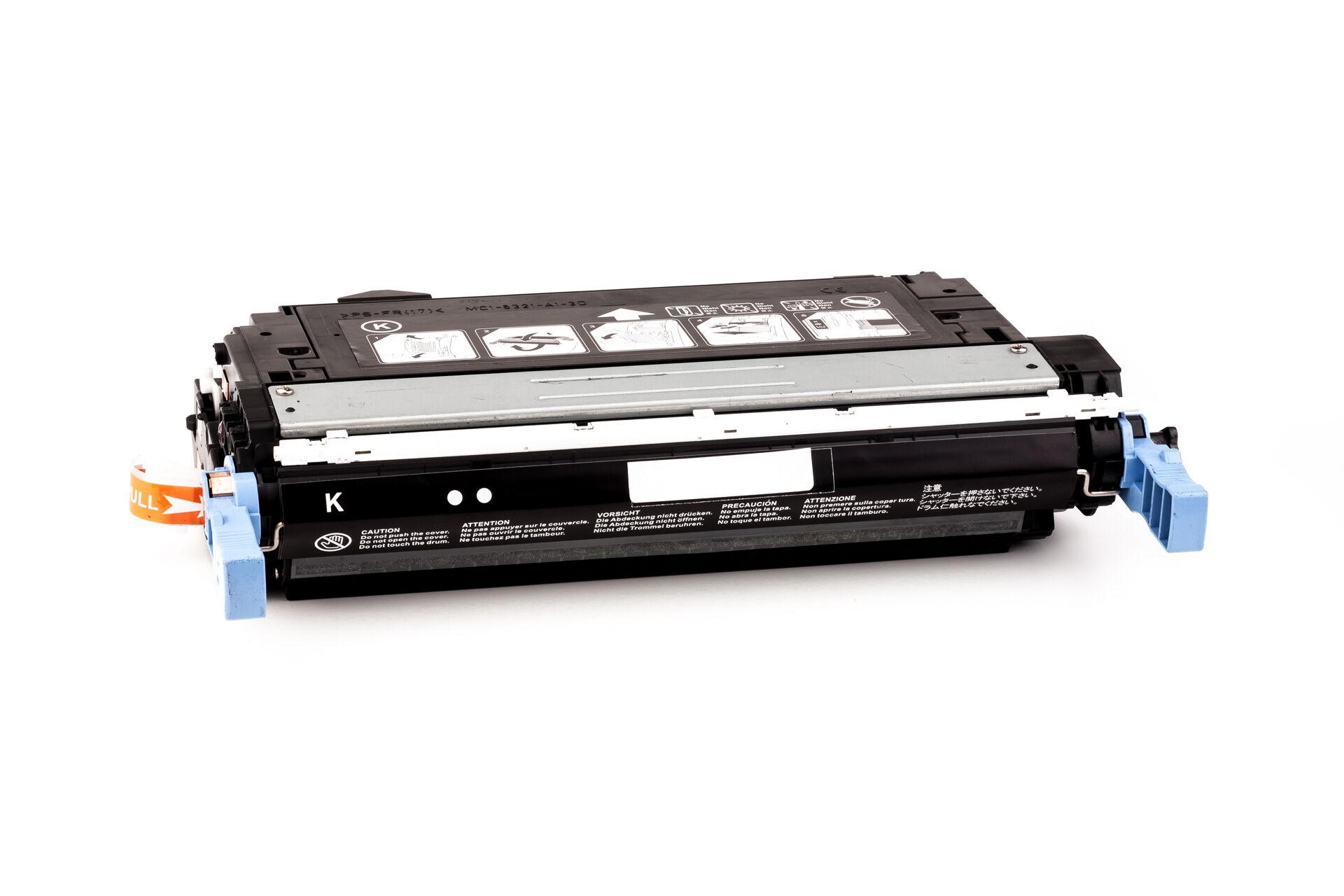 HP Cartouche de Toner pour HP Q5950A / 643A noir compatible (de marque ASC)