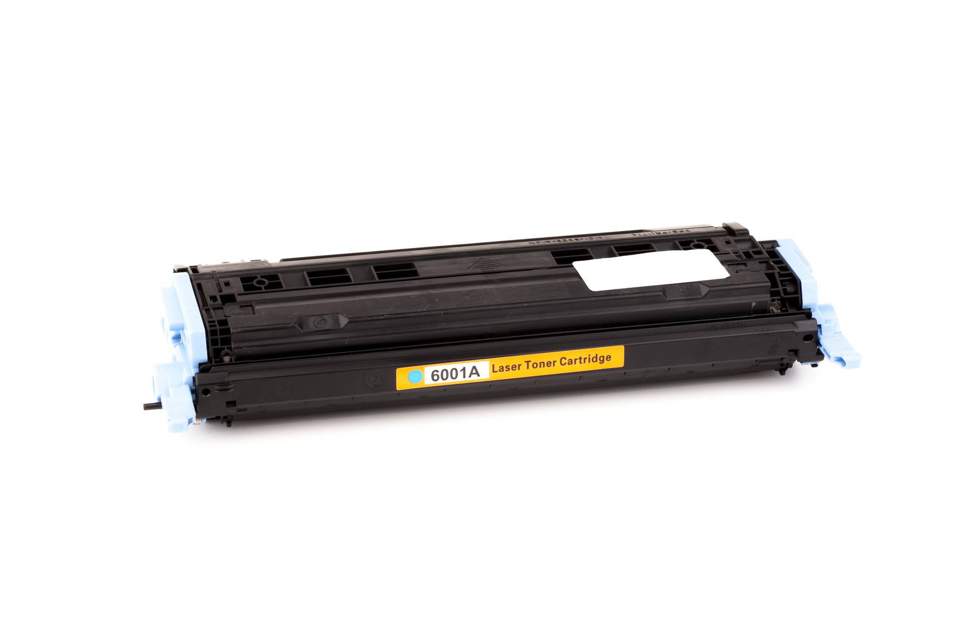 HP Cartouche de Toner pour HP Q6001A / 124A cyan compatible (de marque ASC)