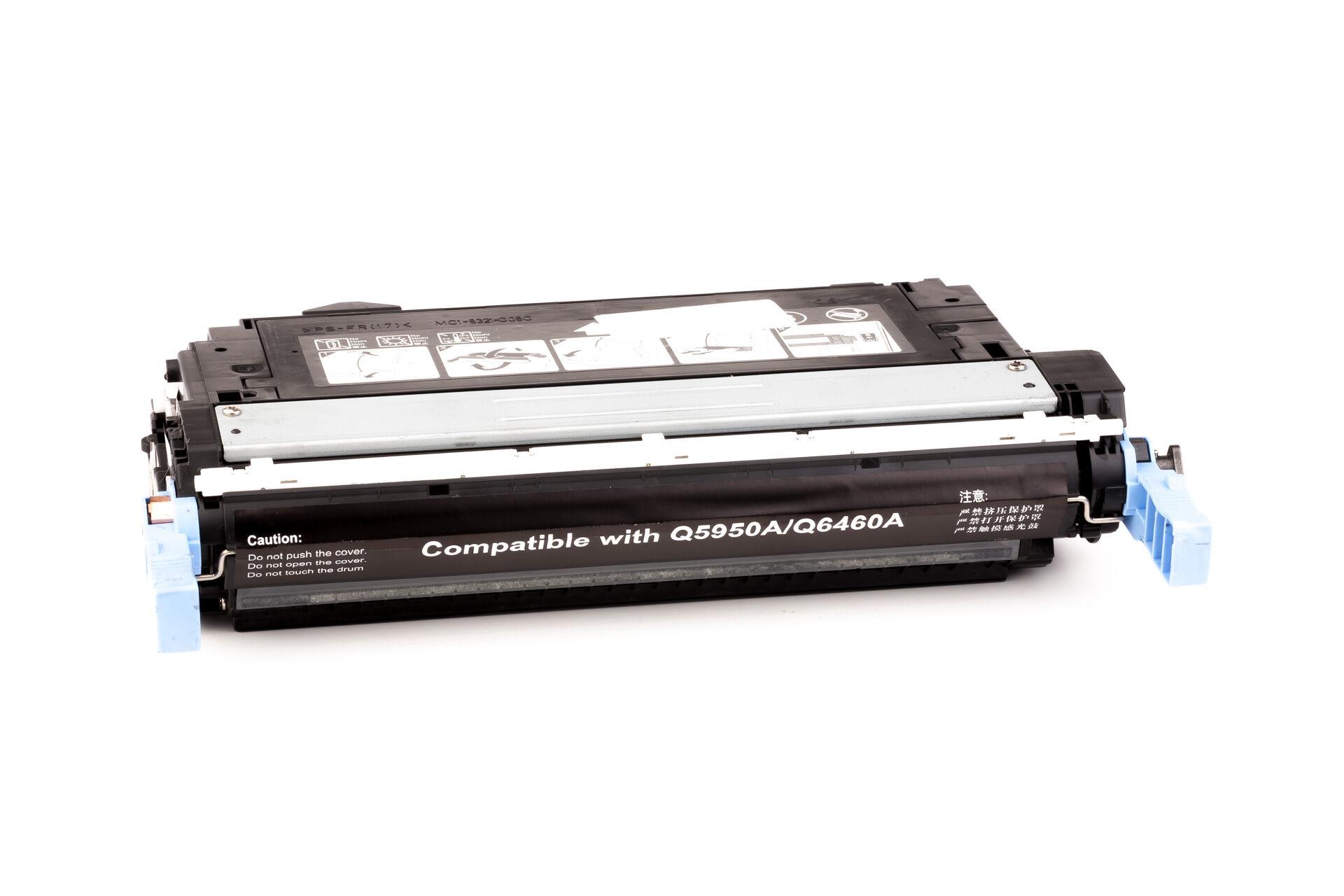 HP Cartouche de Toner pour HP Q6460A / 644A noir compatible (de marque ASC)