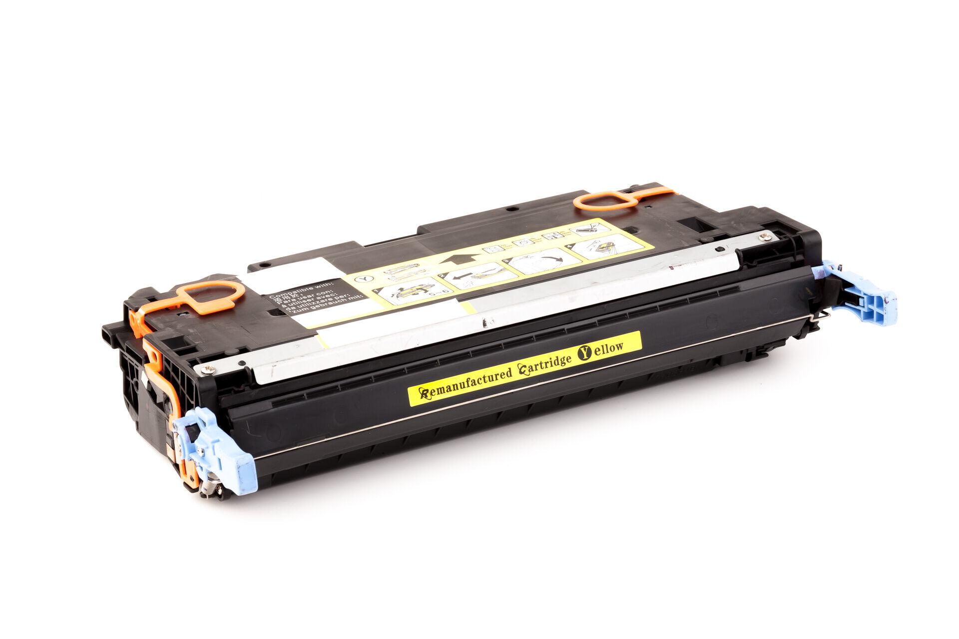 HP Cartouche de Toner pour HP Q6472A / 502A jaune compatible (de marque ASC)