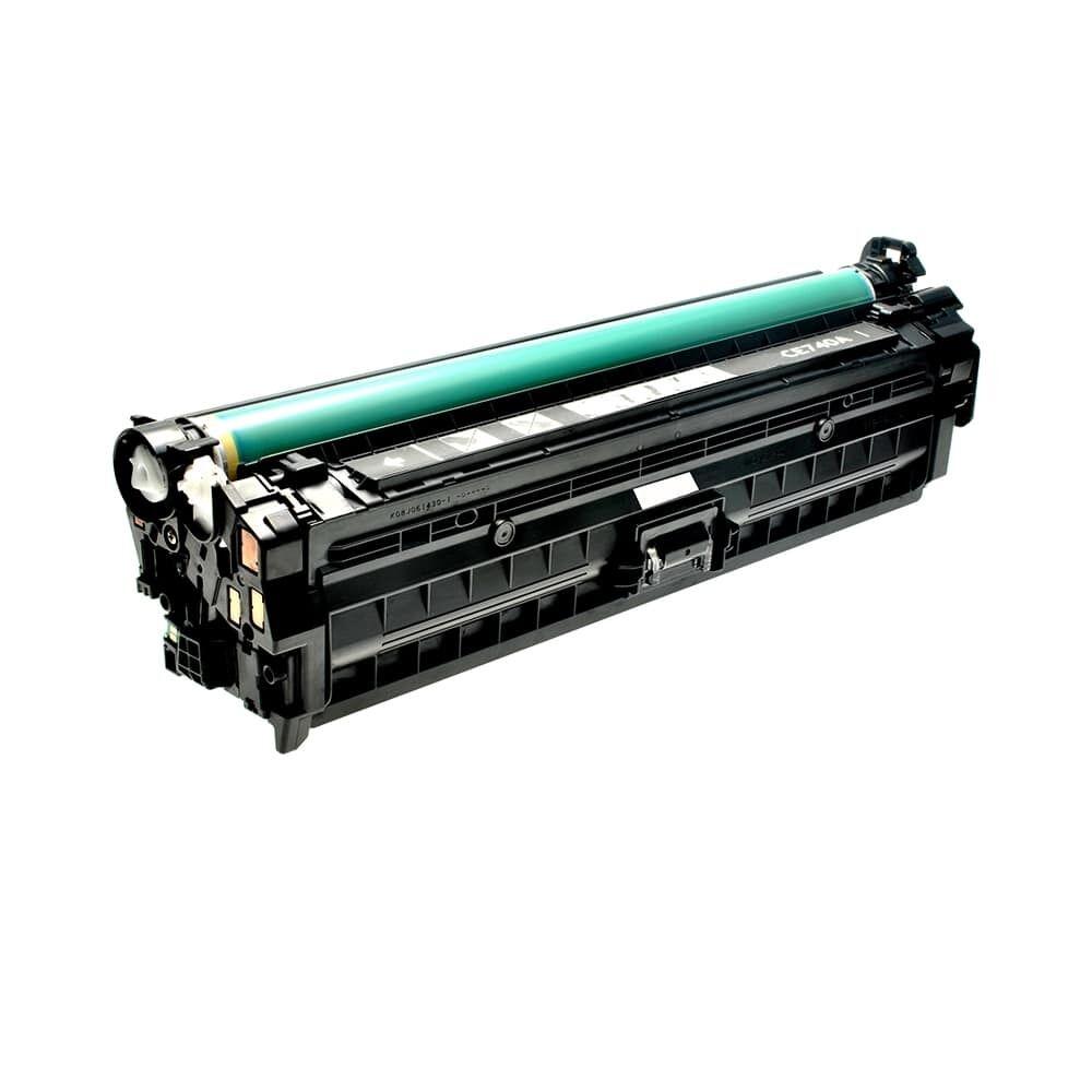 HP Cartouche de Toner pour HP CE740A / 307A noir compatible (de marque ASC)