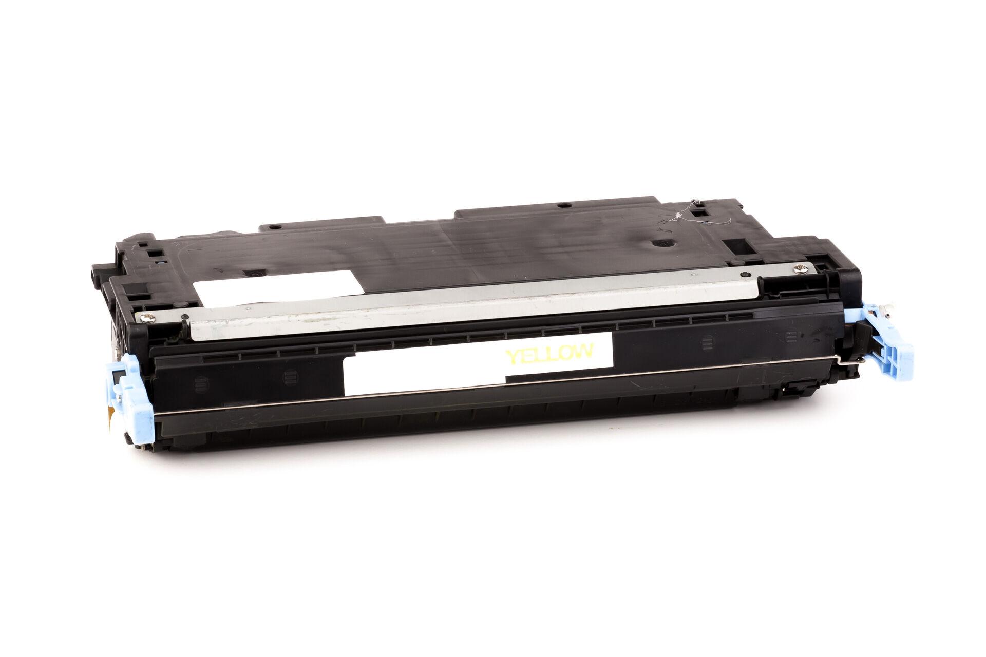 HP Cartouche de Toner pour HP Q7562A / 314A jaune compatible (de marque ASC)