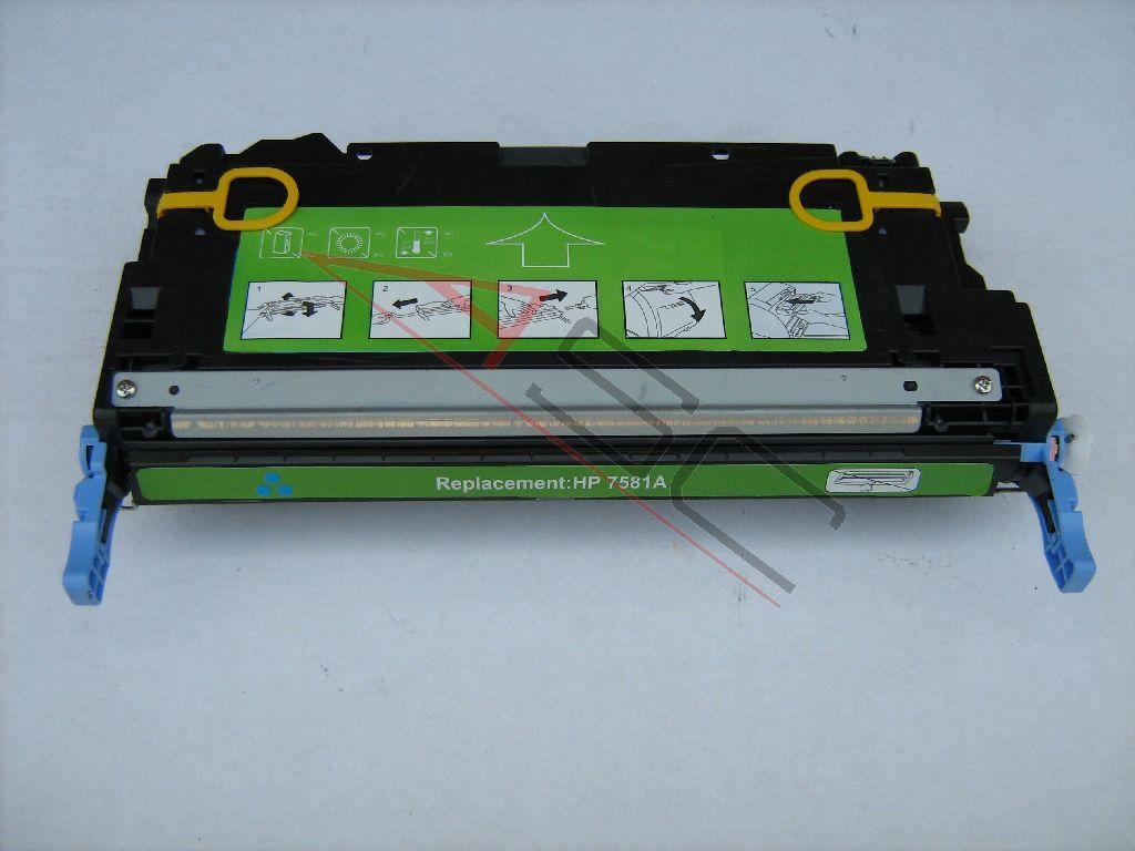 HP Cartouche de Toner pour HP Q7581A / 503A cyan compatible (de marque ASC)