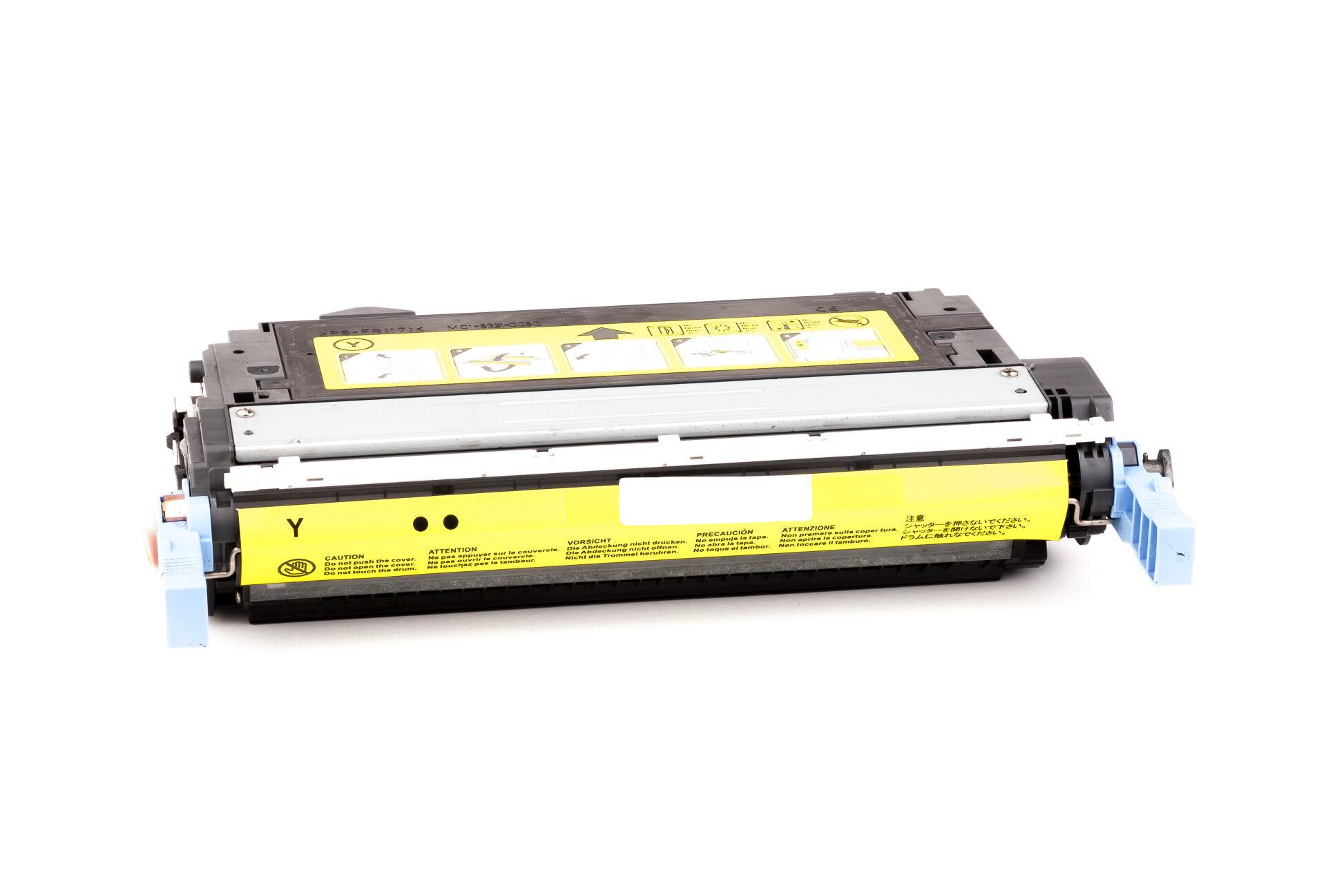 HP Cartouche de Toner pour HP CB402A / 642A jaune compatible (de marque ASC)