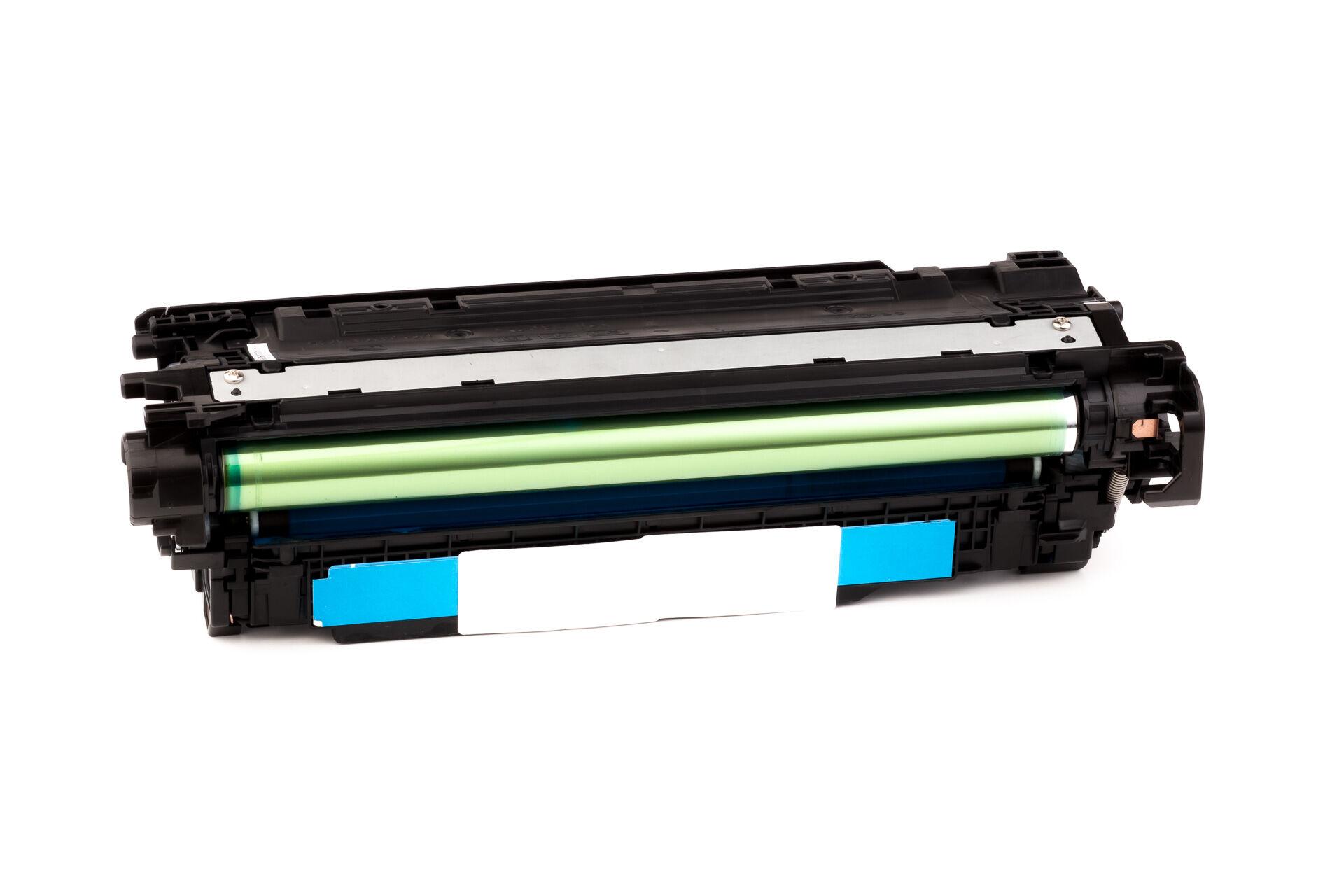 HP Cartouche de Toner pour HP CE401A / 507A cyan compatible (de marque ASC)