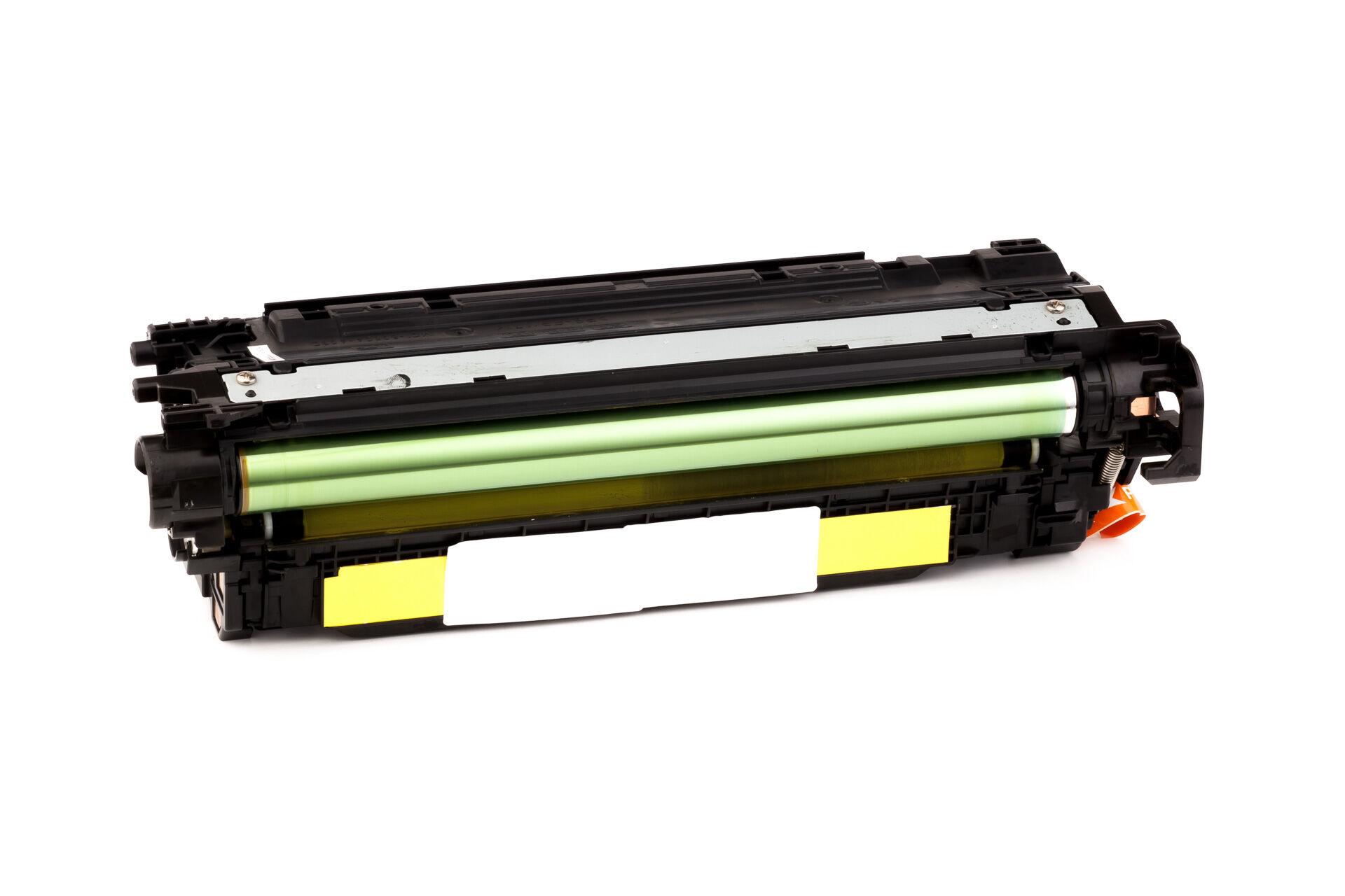 HP Cartouche de Toner pour HP CE402A / 507A jaune compatible (de marque ASC)