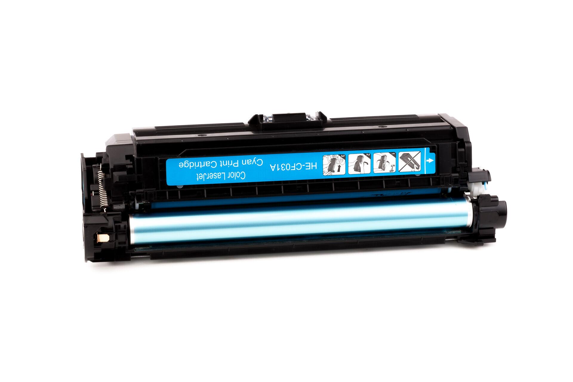 HP Cartouche de Toner pour HP CF031A / 646A cyan compatible (de marque ASC)