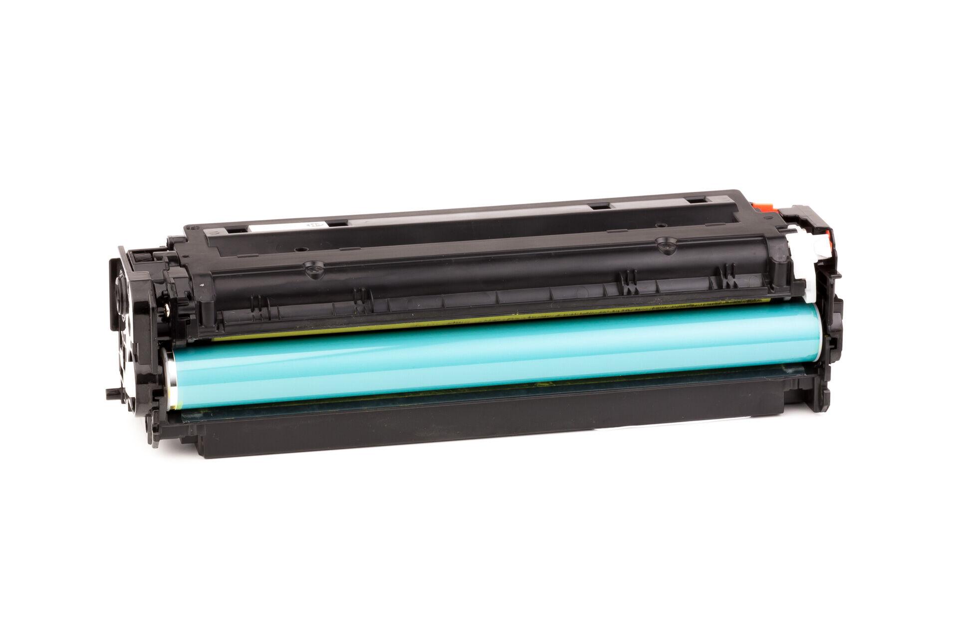 HP Cartouche de Toner pour HP CF382A / 312A jaune compatible (de marque ASC)