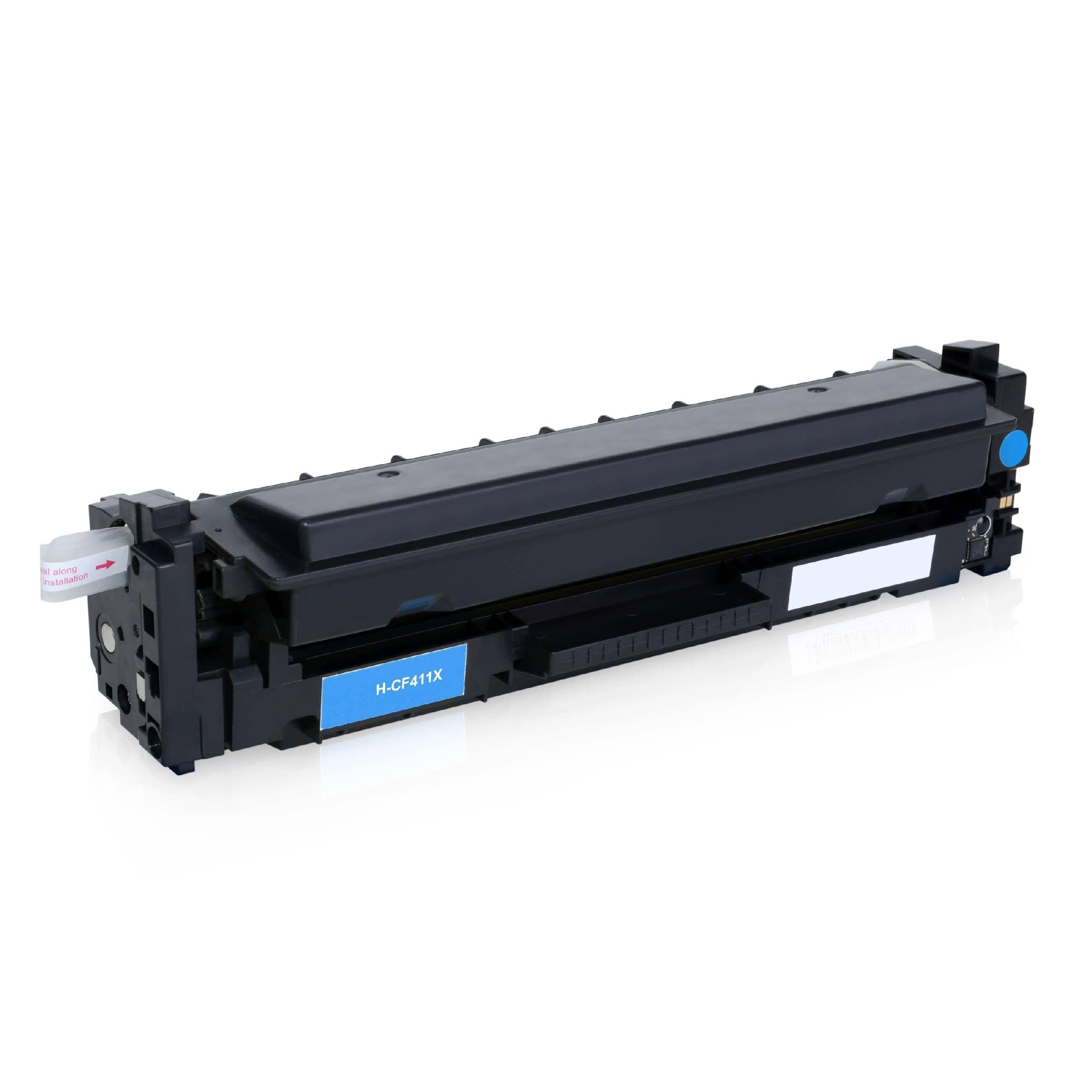 HP Cartouche de Toner pour HP CF411X / 410X cyan compatible (de marque ASC)