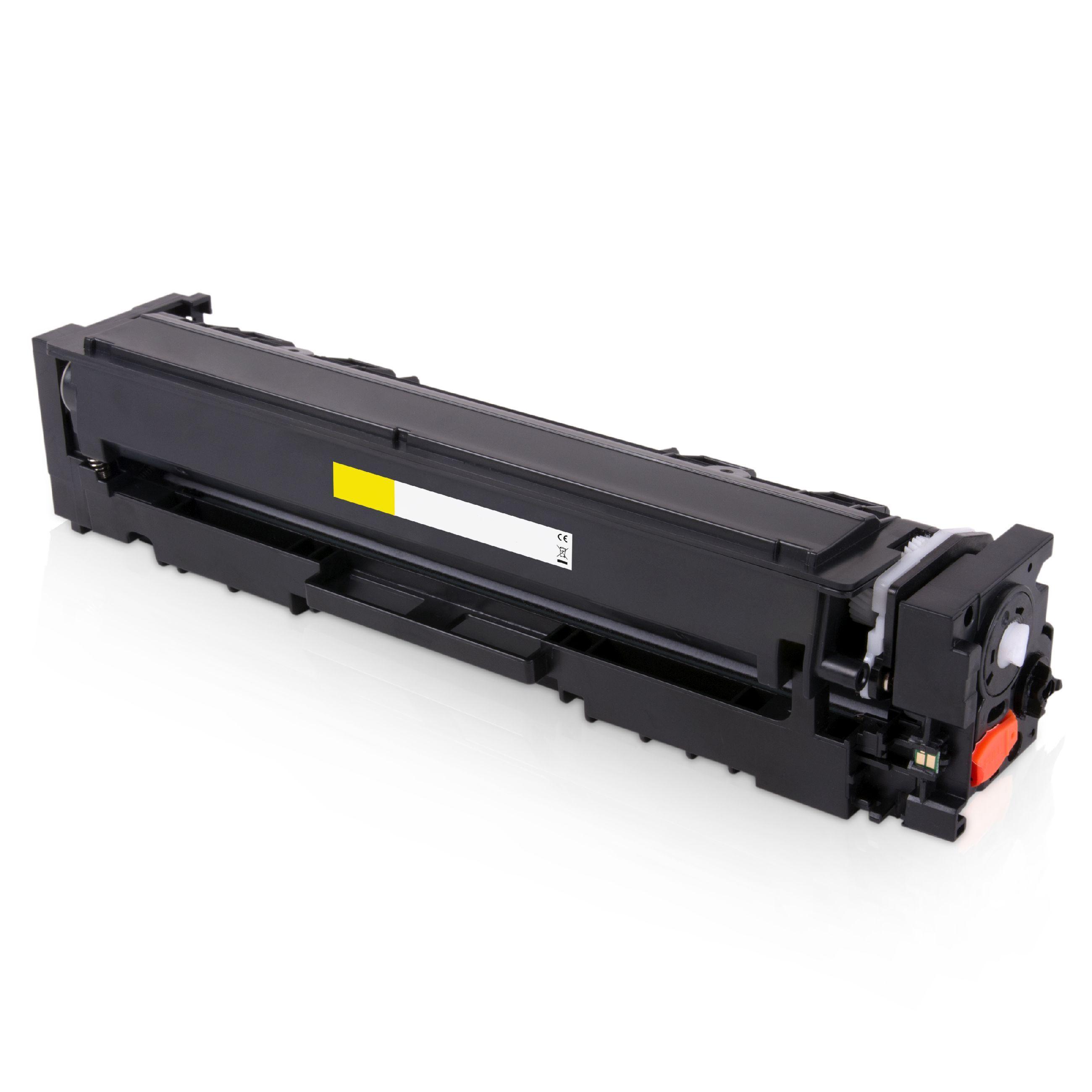 HP Cartouche de Toner pour HP CF542A / 203A jaune compatible (de marque ASC)