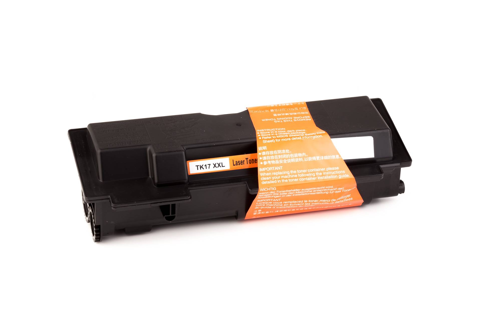 Kyocera Cartouche de Toner pour Kyocera 1T02BX0EU0 / TK-17 noir compatible (de marque ASC)