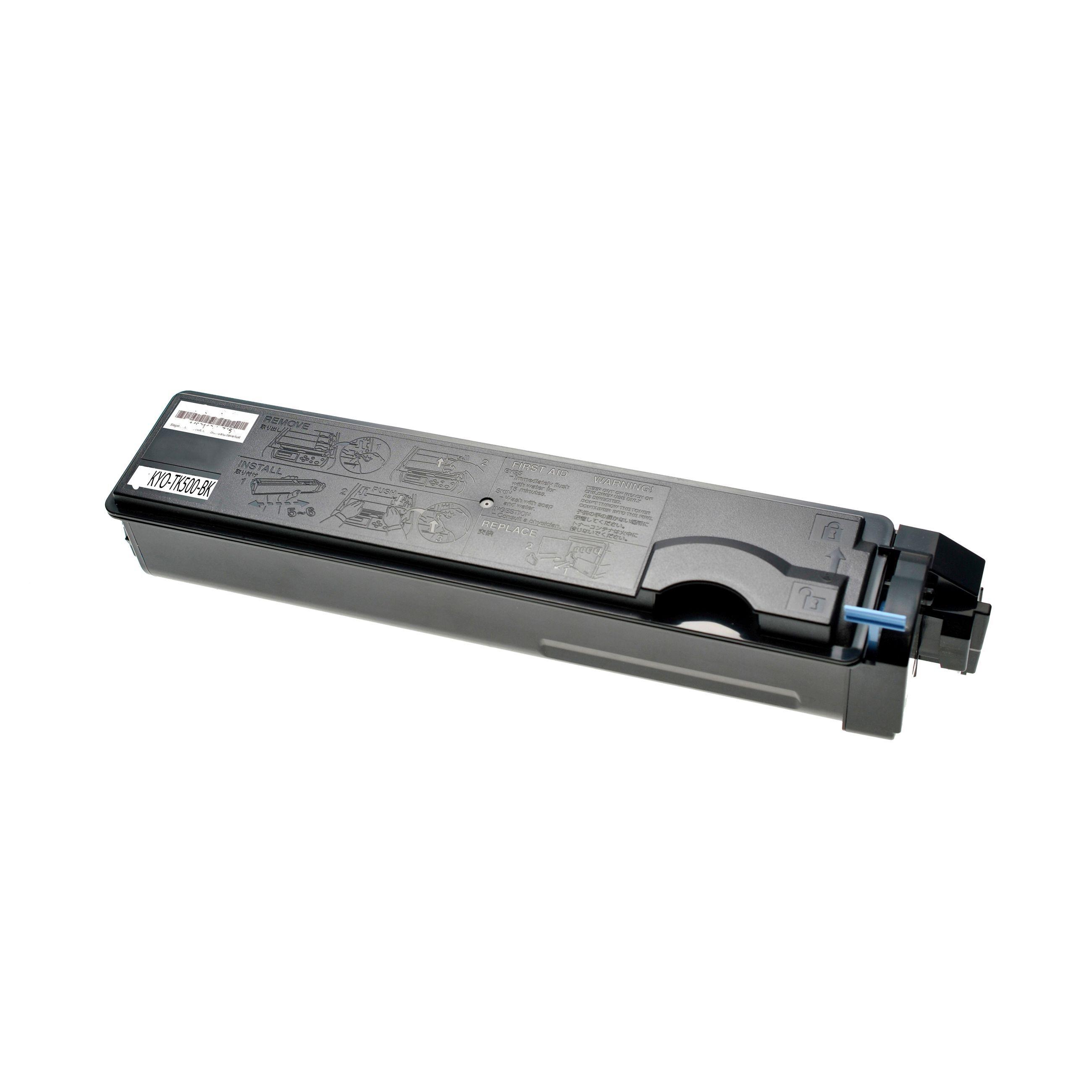 Kyocera Cartouche de Toner pour Kyocera 370PD0KW / TK-500 K noir compatible (de marque ASC)