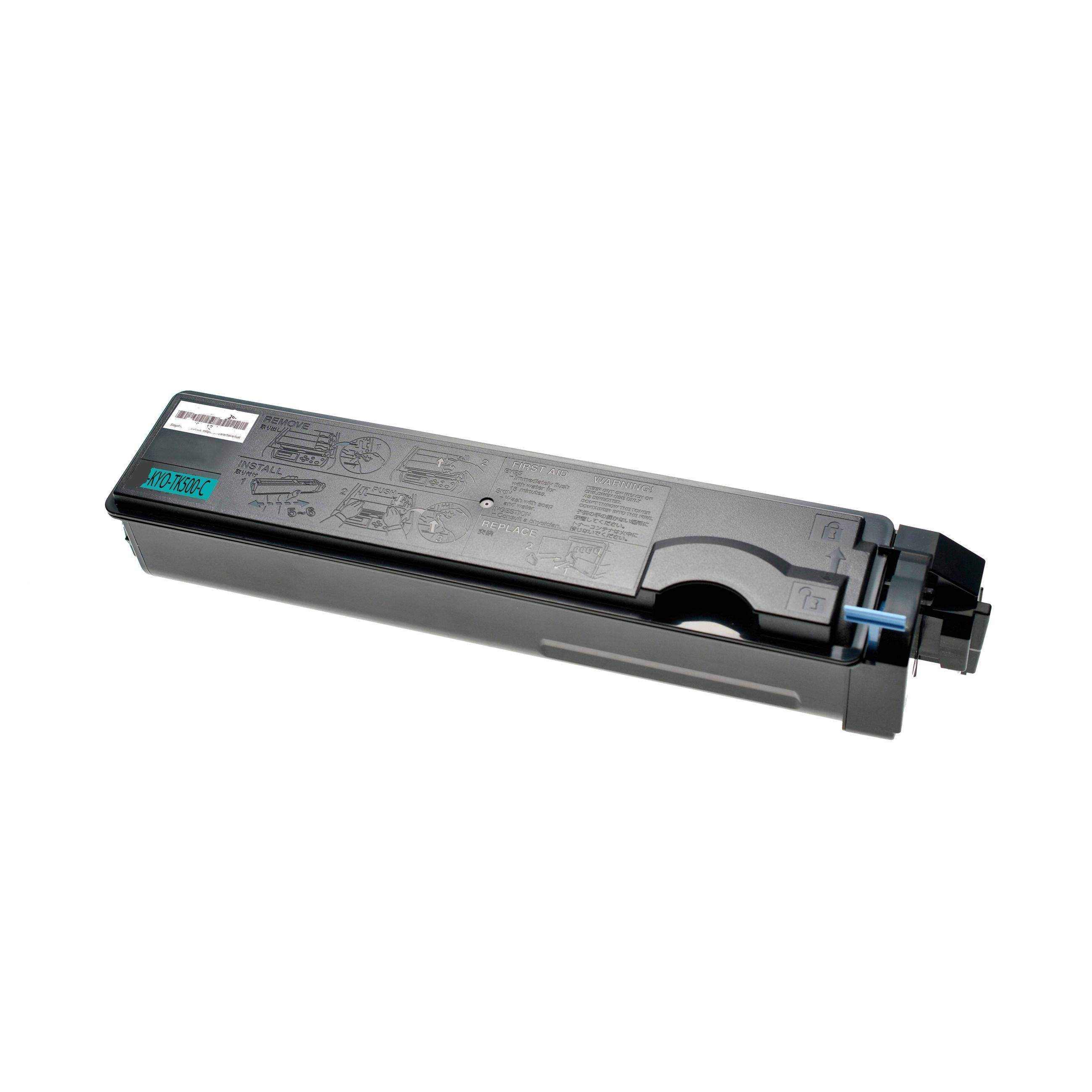 KYOCERA Cartouche de Toner pour KYOCERA 370PD5KW / TK-500 C cyan compatible (de marque ASC)