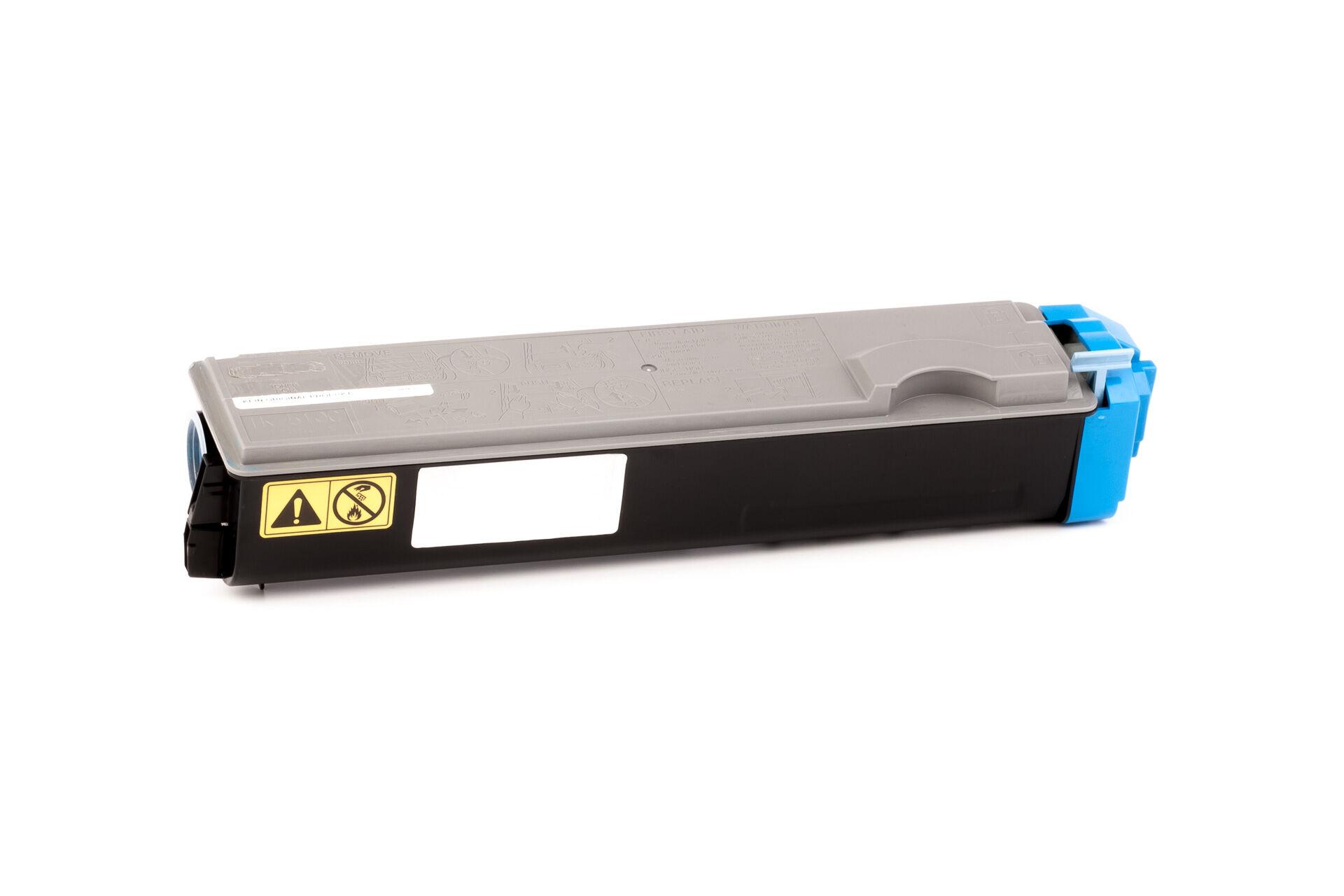 Kyocera Cartouche de Toner pour Kyocera 1T02F3CEU0 / TK-510 C cyan compatible (de marque ASC)