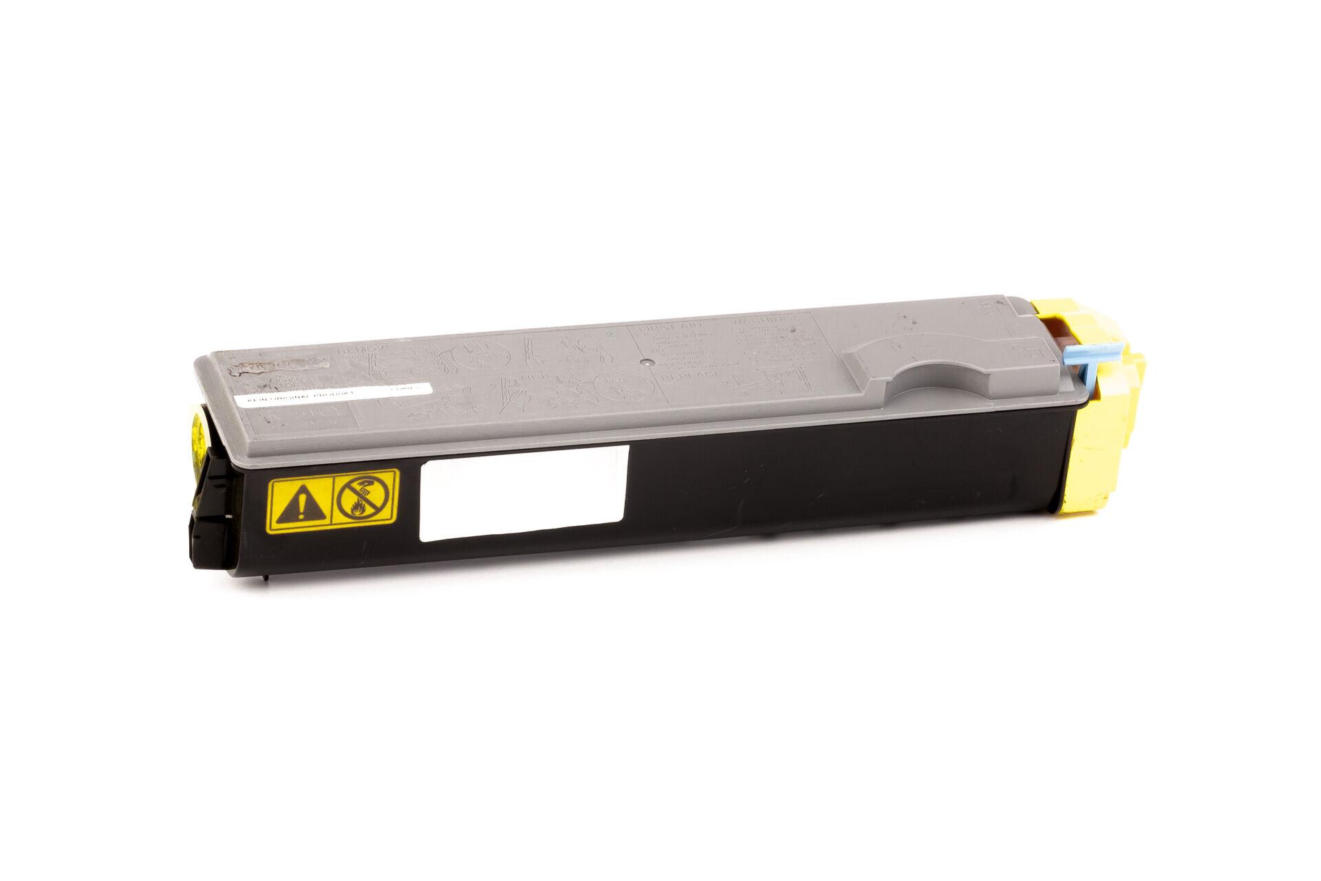 Kyocera Cartouche de Toner pour Kyocera 1T02F3AEU0 / TK-510 Y jaune compatible (de marque ASC)