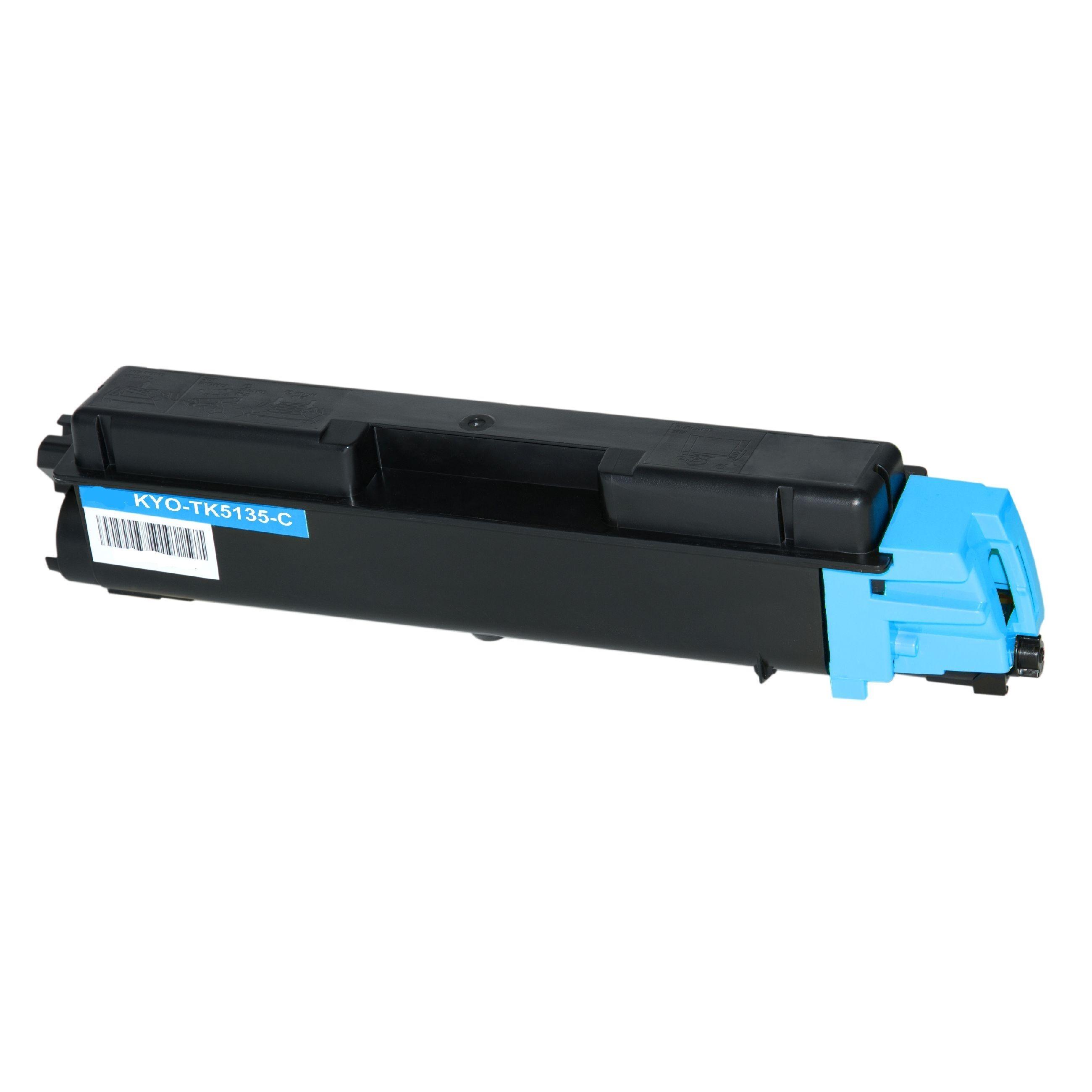 Kyocera Cartouche de Toner pour Kyocera 1T02PACNL0 / TK-5135 C cyan compatible (de marque ASC)