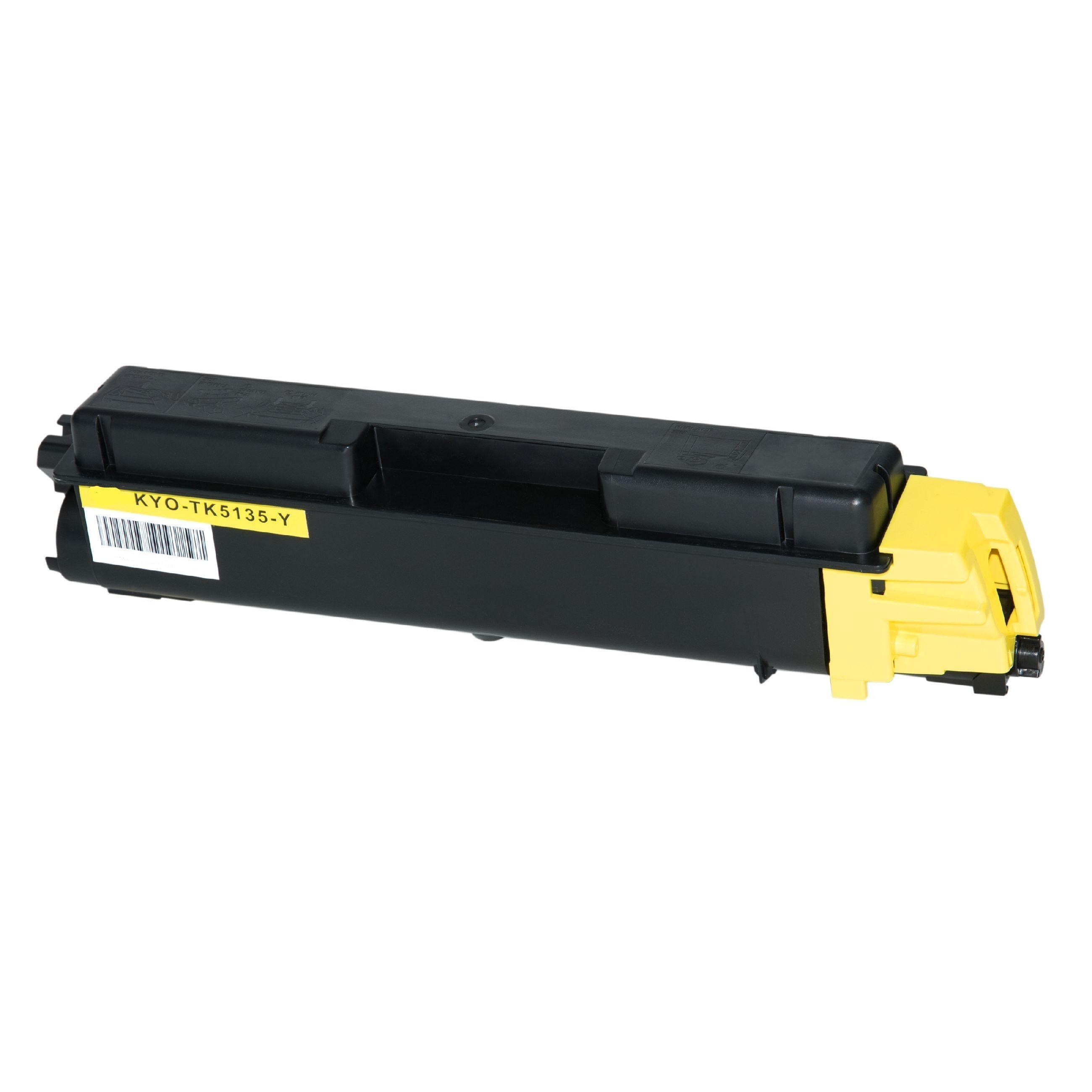 Kyocera Cartouche de Toner pour Kyocera 1T02PAANL0 / TK-5135 Y jaune compatible (de marque ASC)