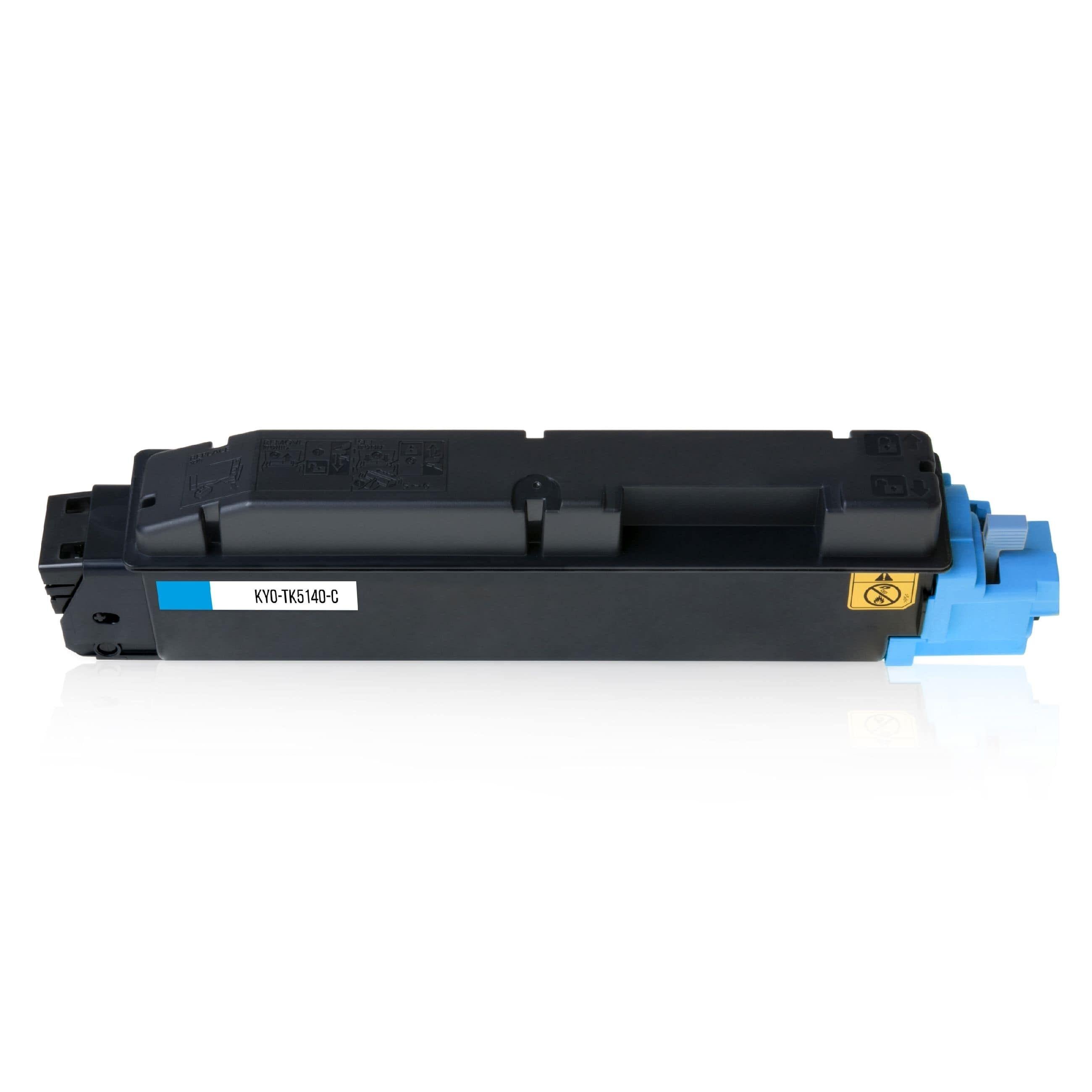 Kyocera Cartouche de Toner pour Kyocera 1T02NRCNL0 / TK-5140 C cyan compatible (de marque ASC)