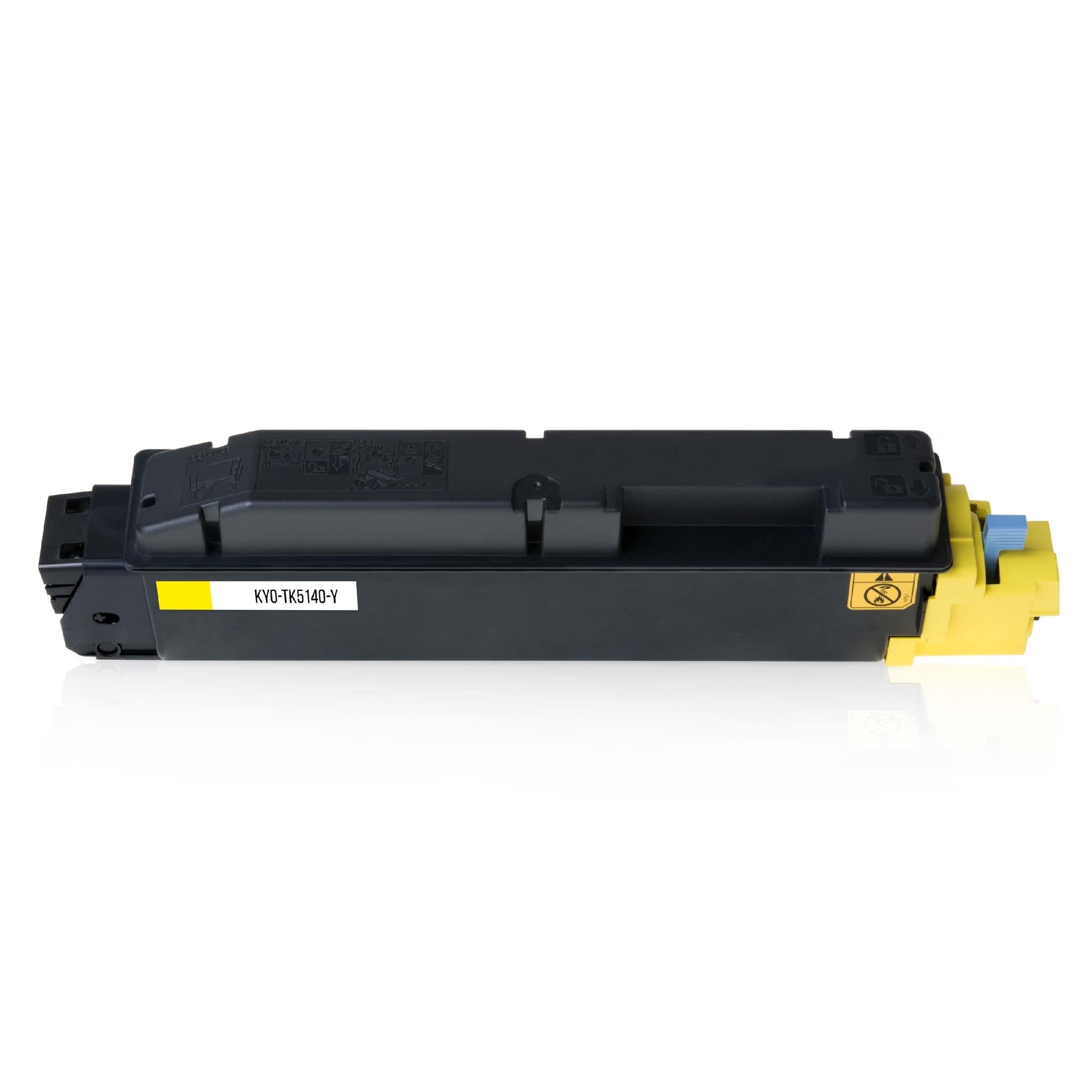 Kyocera Cartouche de Toner pour Kyocera 1T02NRANL0 / TK-5140 Y jaune compatible (de marque ASC)