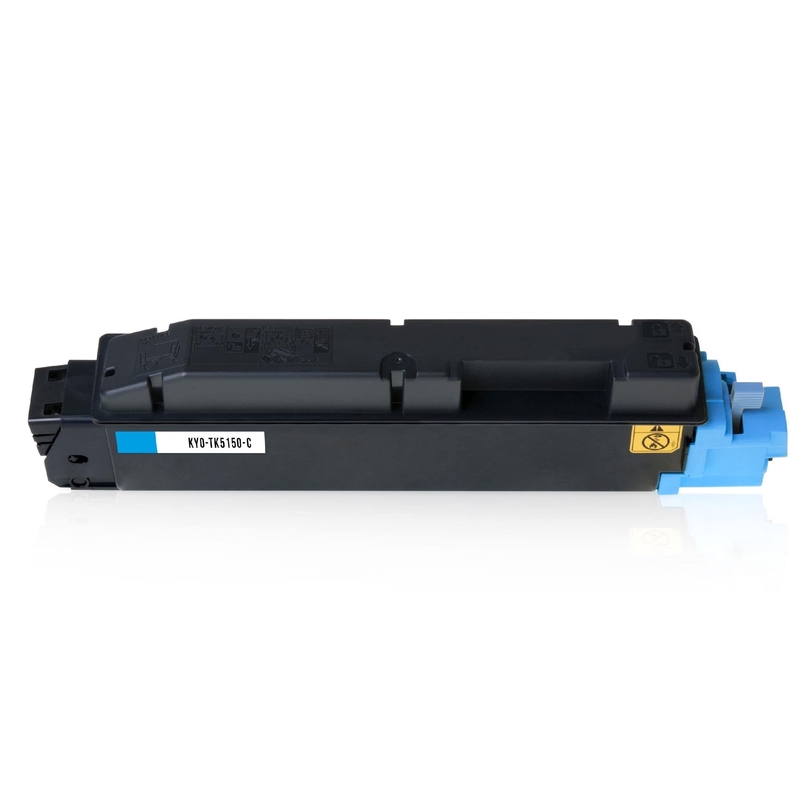 Kyocera Cartouche de Toner pour Kyocera 1T02NSCNL0 / TK-5150 C cyan compatible (de marque ASC)