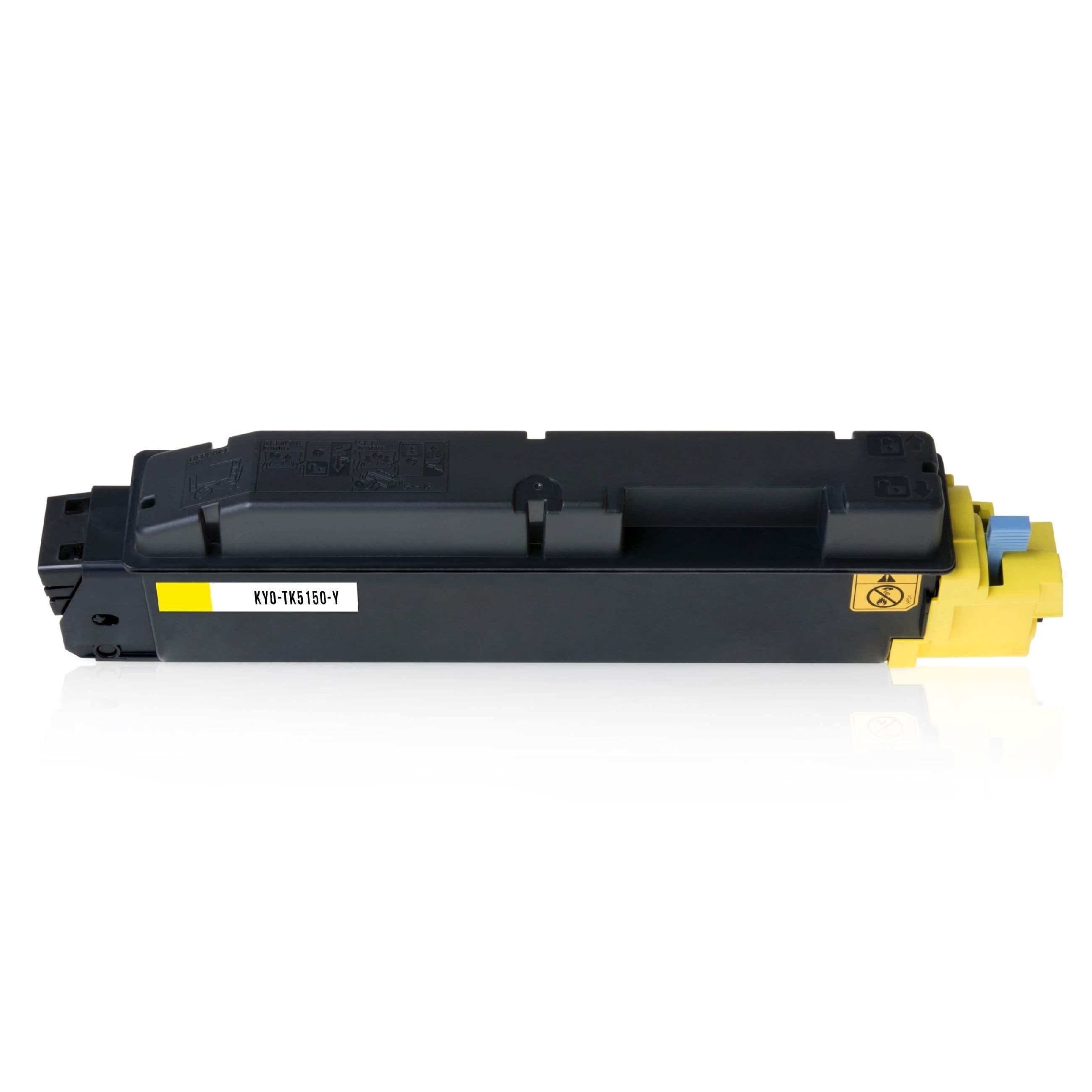Kyocera Cartouche de Toner pour Kyocera 1T02NSANL0 / TK-5150 Y jaune compatible (de marque ASC)