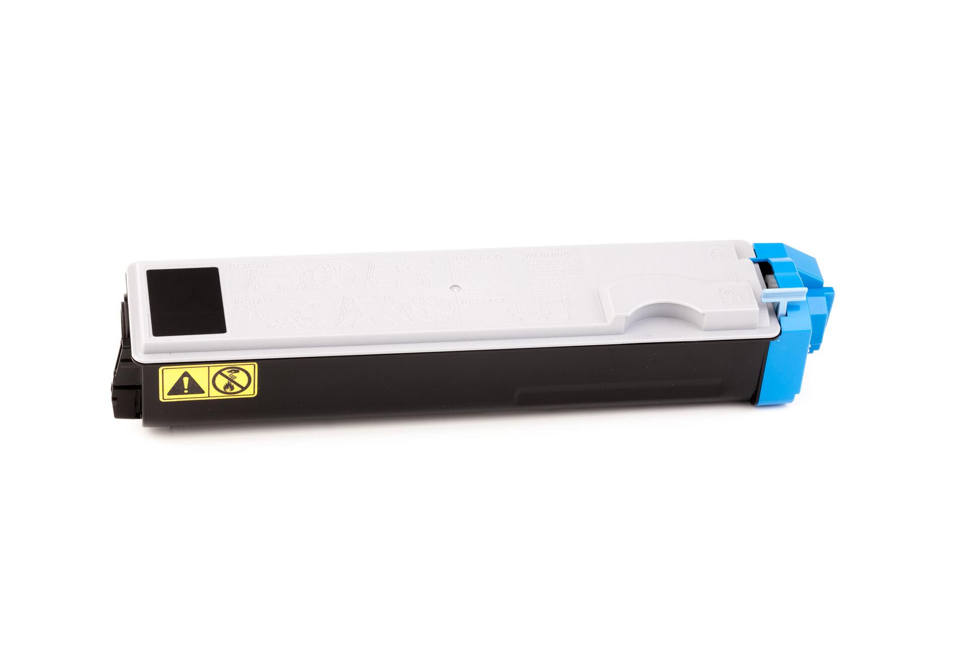 Kyocera Cartouche de Toner pour Kyocera 1T02HJCEU0 / TK-520 C cyan compatible (de marque ASC)