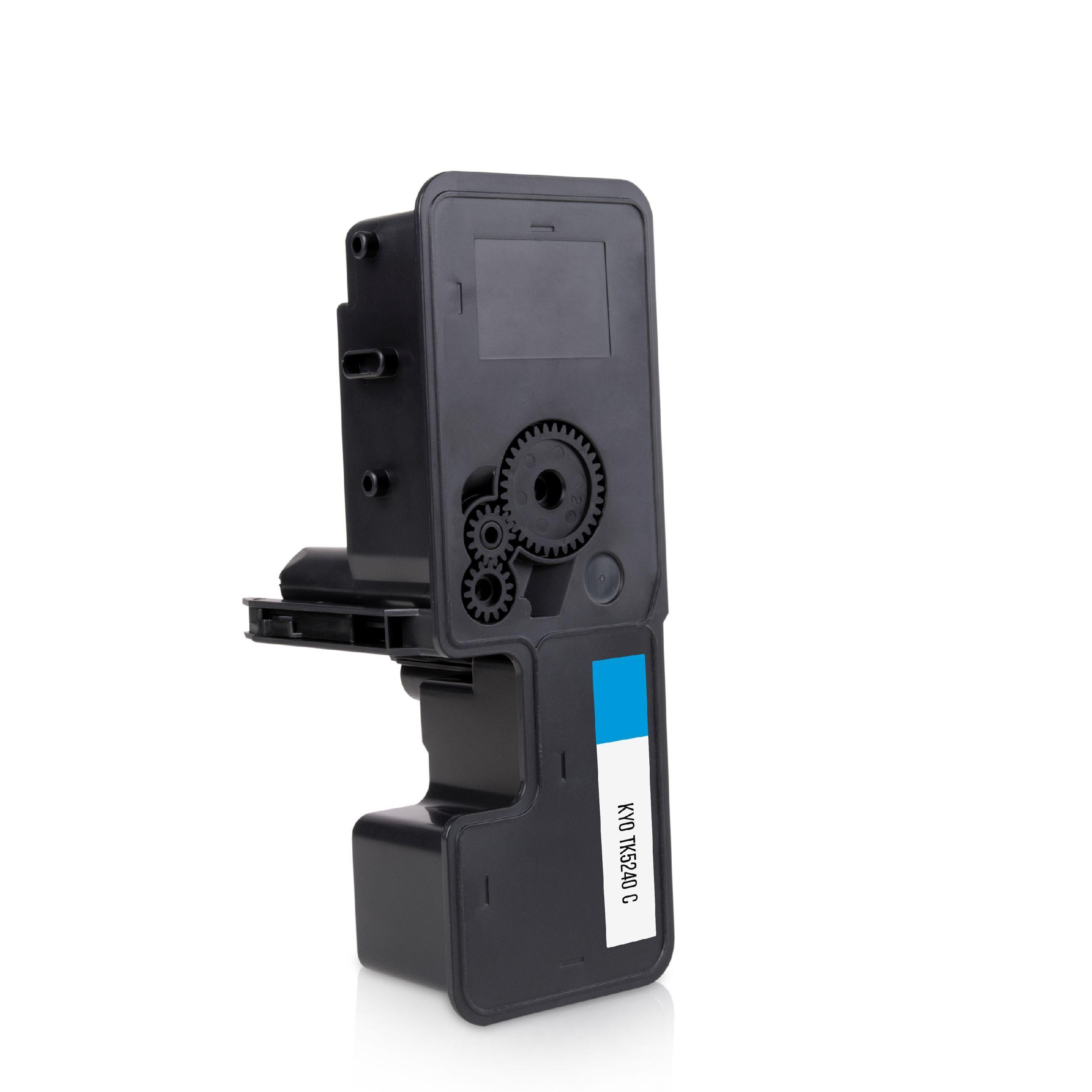 Kyocera Cartouche de Toner pour Kyocera 1T02R7CNL0 / TK-5240 C cyan compatible (de marque ASC)