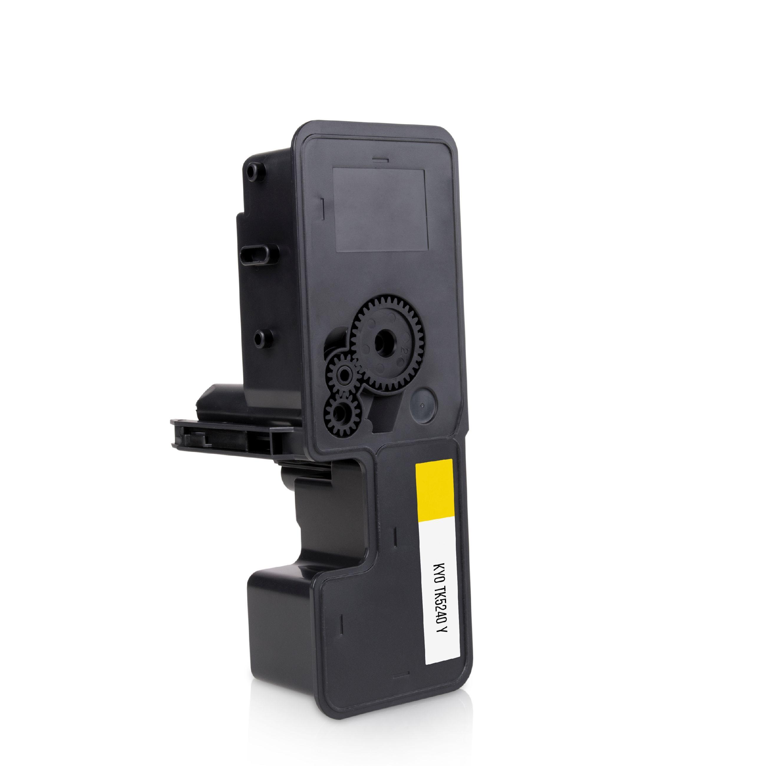 Kyocera Cartouche de Toner pour Kyocera 1T02R7ANL0 / TK-5240 Y jaune compatible (de marque ASC)