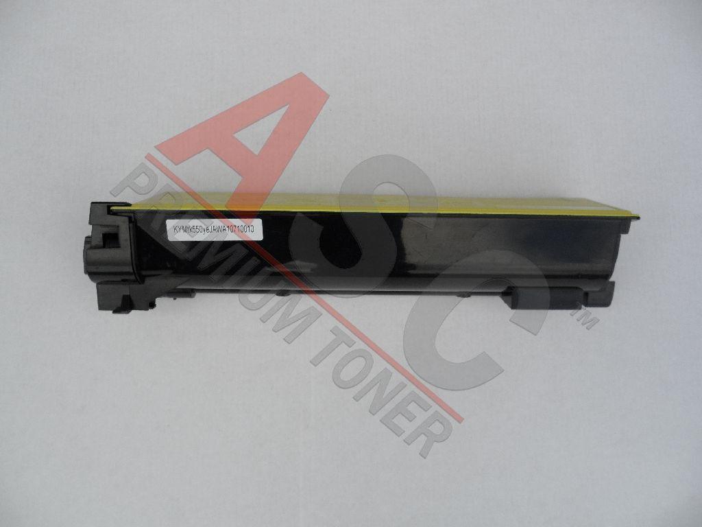 Kyocera Cartouche de Toner pour Kyocera 1T02HMAEU0 / TK-550 Y jaune compatible (de marque ASC)