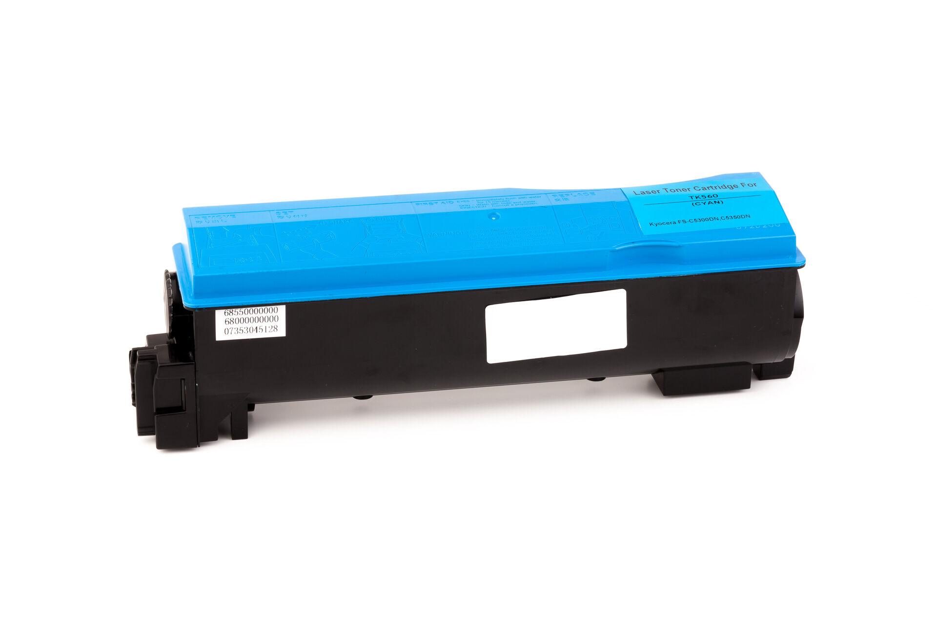 Kyocera Cartouche de Toner pour Kyocera 1T02HNCEU0 / TK-560 C cyan compatible (de marque ASC)