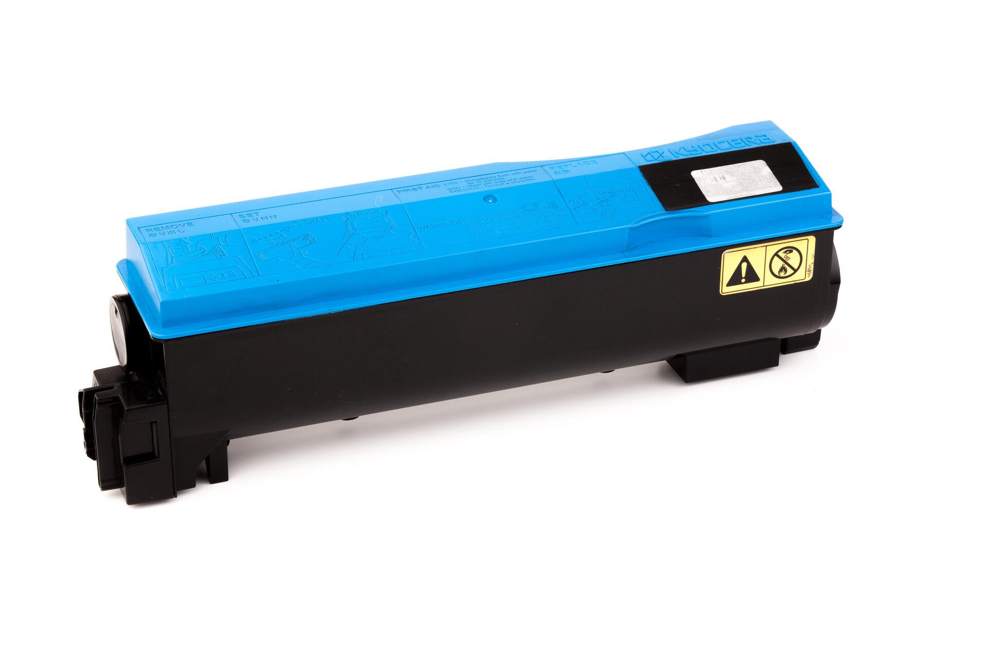 Kyocera Cartouche de Toner pour Kyocera 1T02HGCEU0 / TK-570 C cyan compatible (de marque ASC)